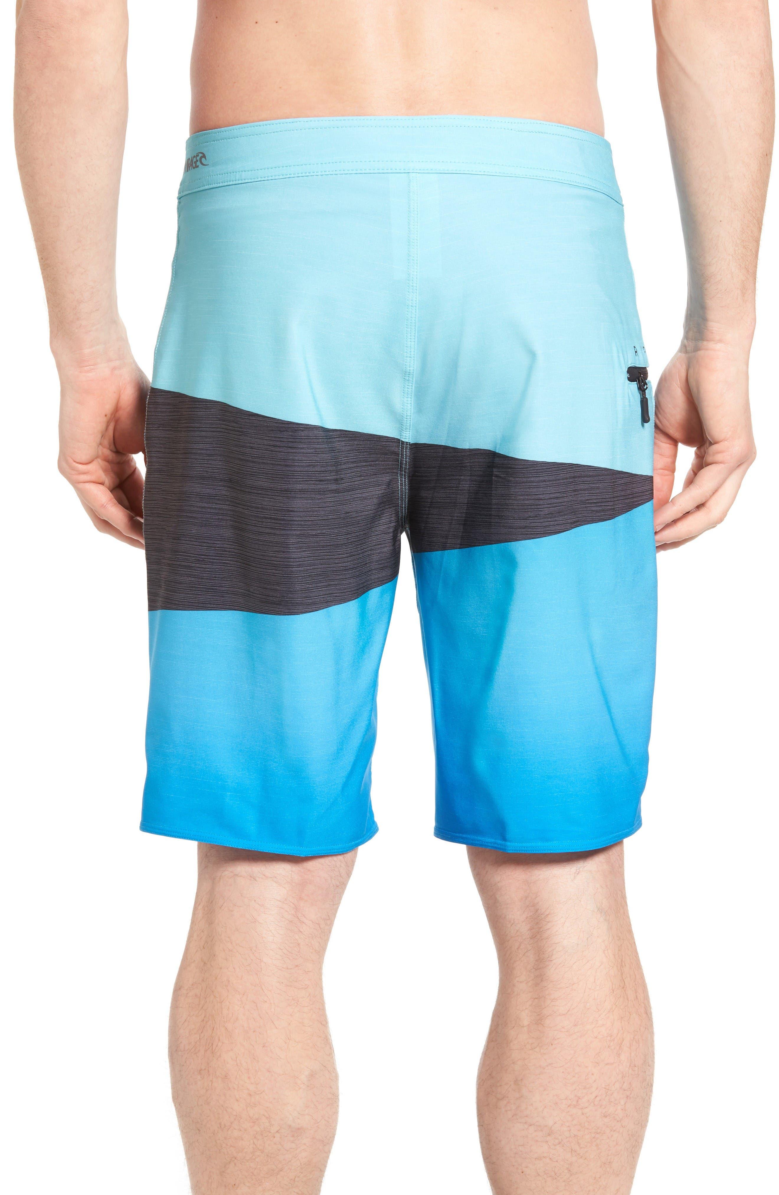 Alternate Image 2  - Rip Curl Mirage Wedge Board Shorts