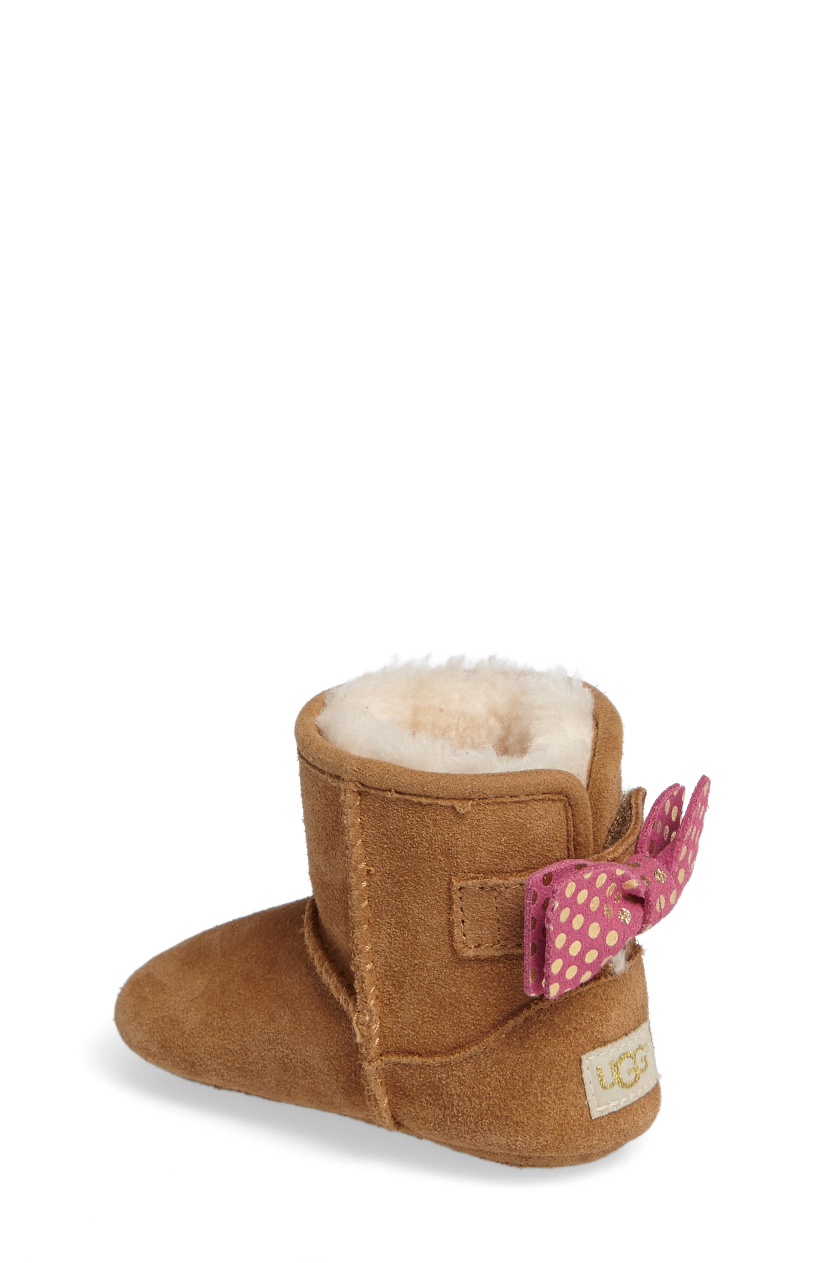 Alternate Image 2  - UGG® Jesse Bow II Dots Boot (Baby & Walker)