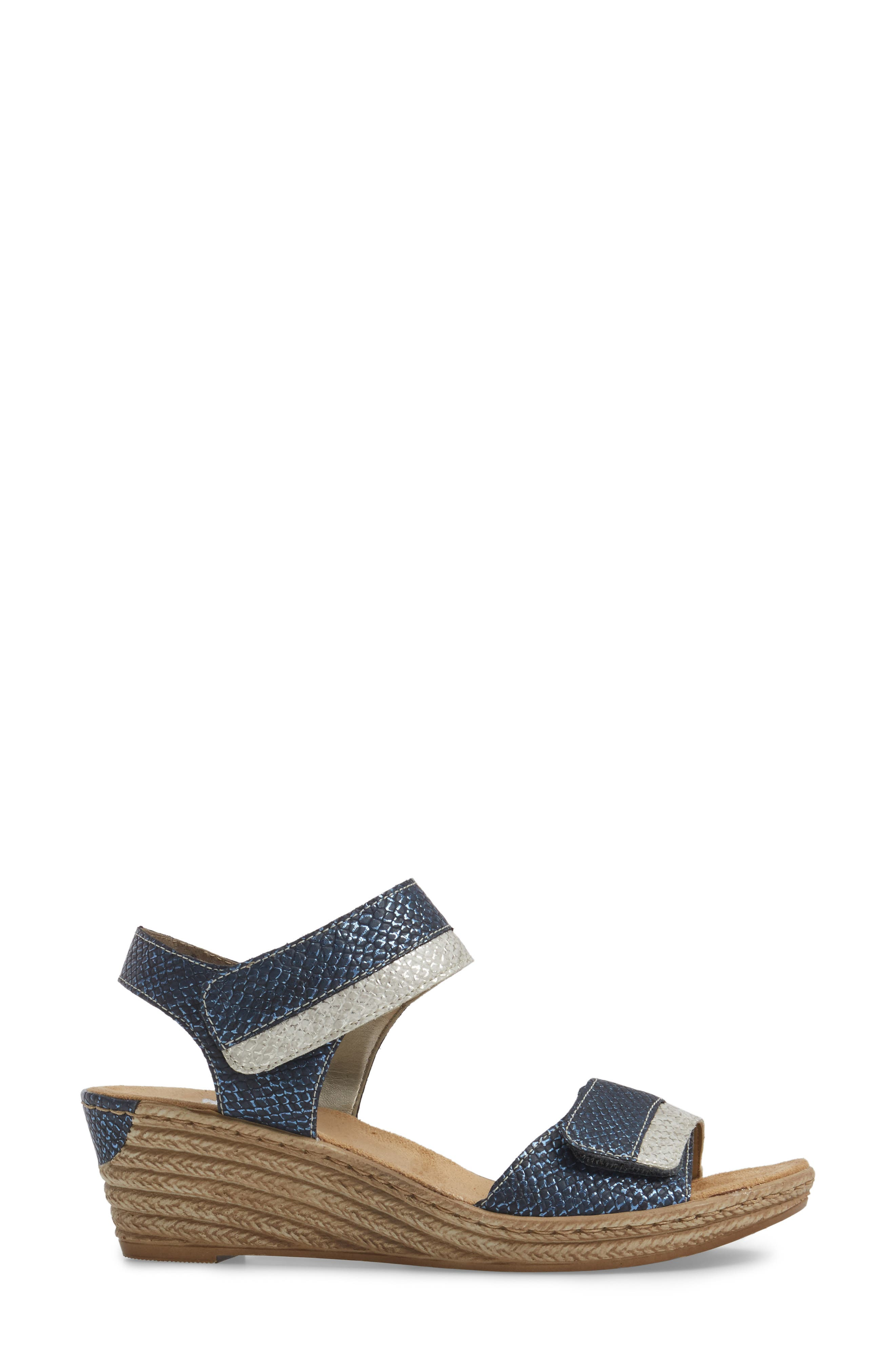 Alternate Image 3  - Rieker Antistress Fanni 70 Wedge Sandal (Women)