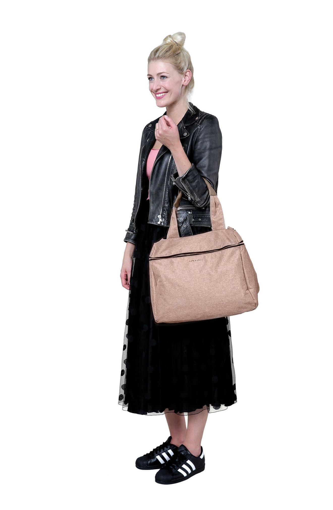Alternate Image 8  - Lässig Glam Rosie Diaper Bag