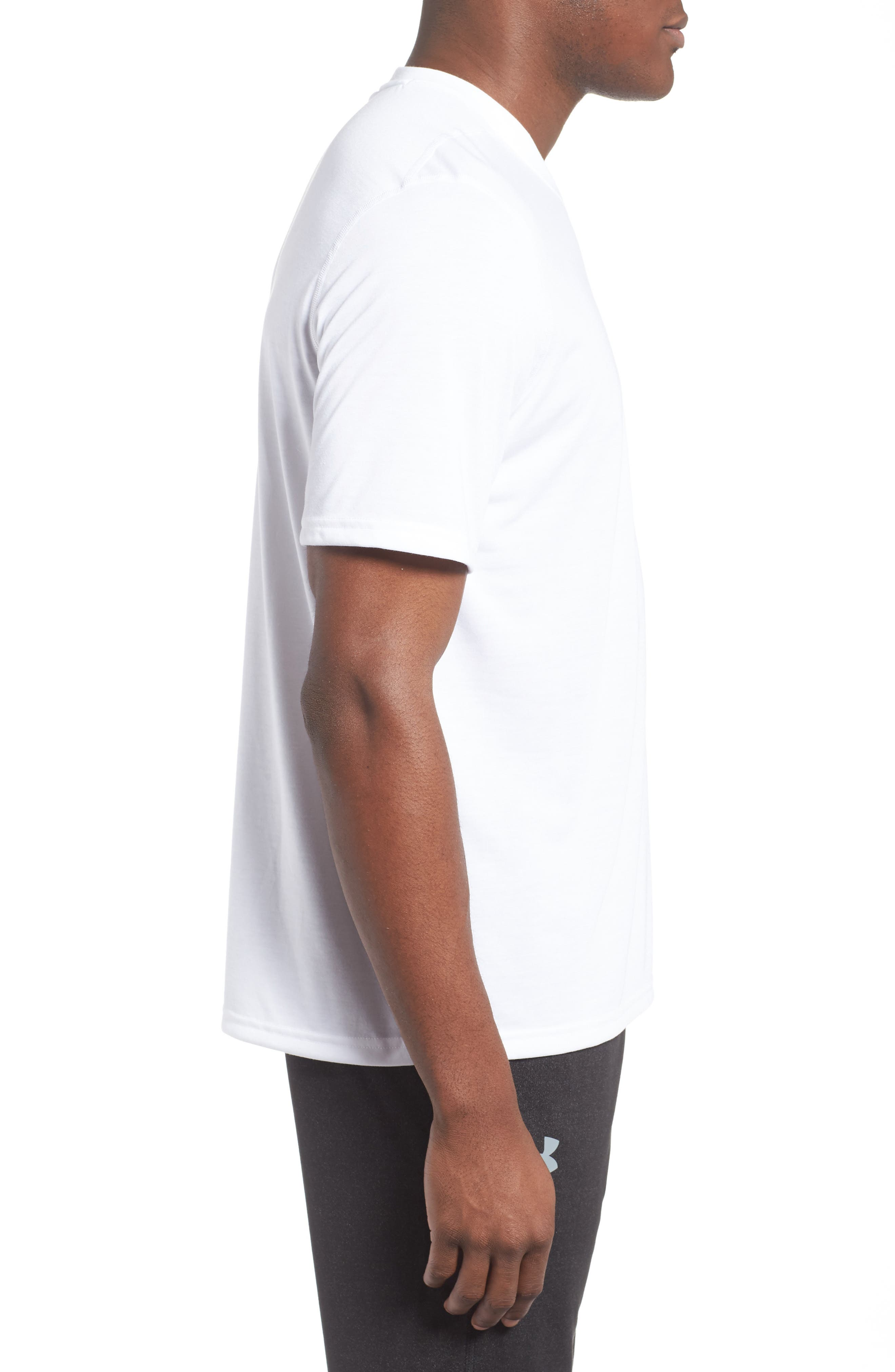 Alternate Image 2  - Under Armour Regular Fit Threadborne T-Shirt