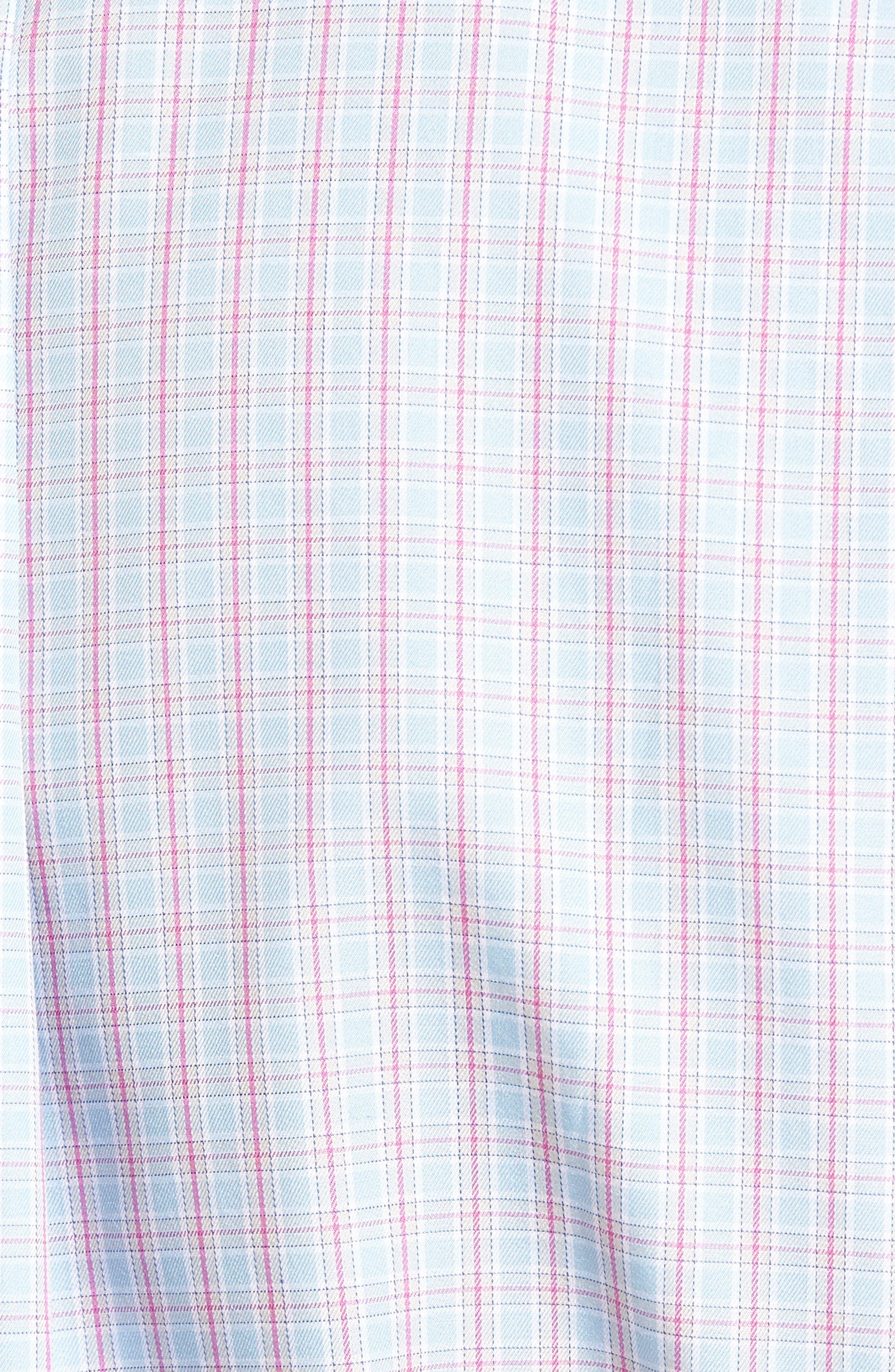 Alternate Image 5  - Peter Millar Temple Regular Fit Check Sport Shirt