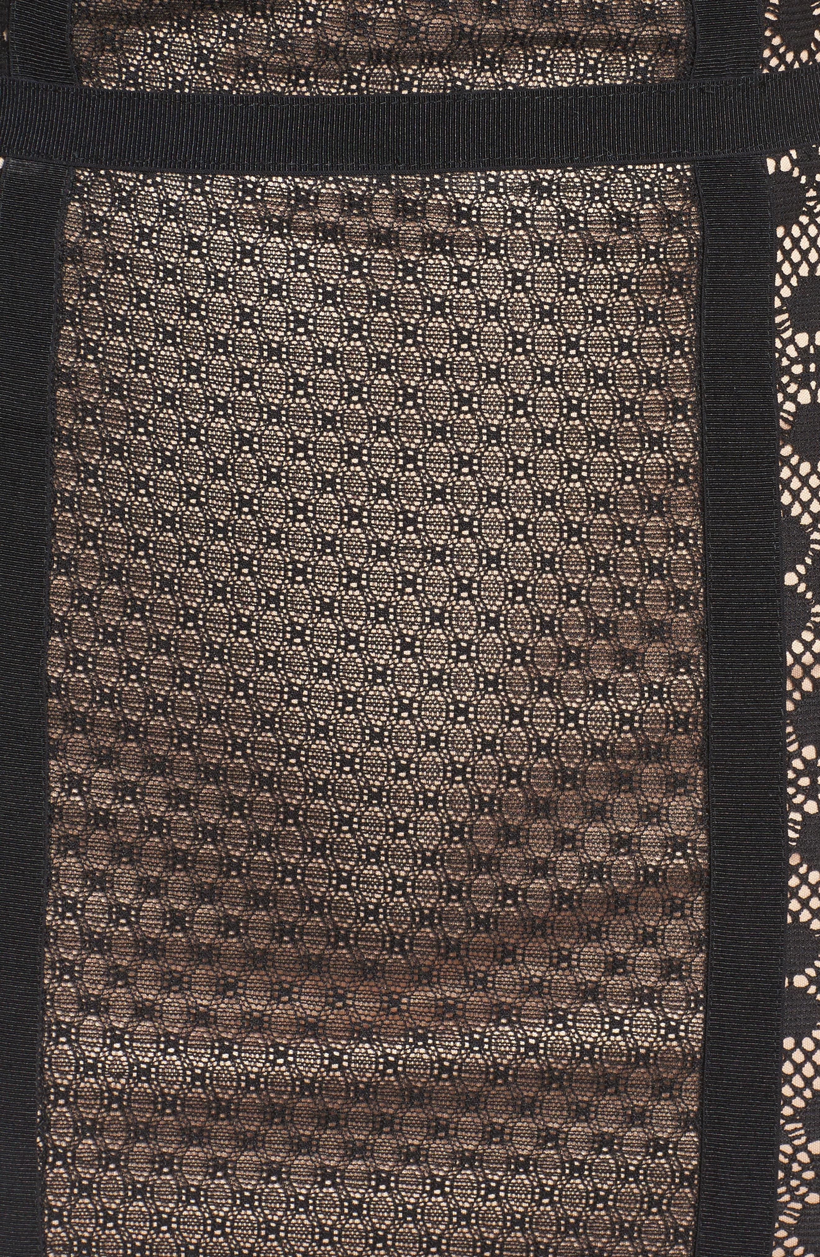 Hola Mamacita Body-Con Dress,                             Alternate thumbnail 6, color,                             Black