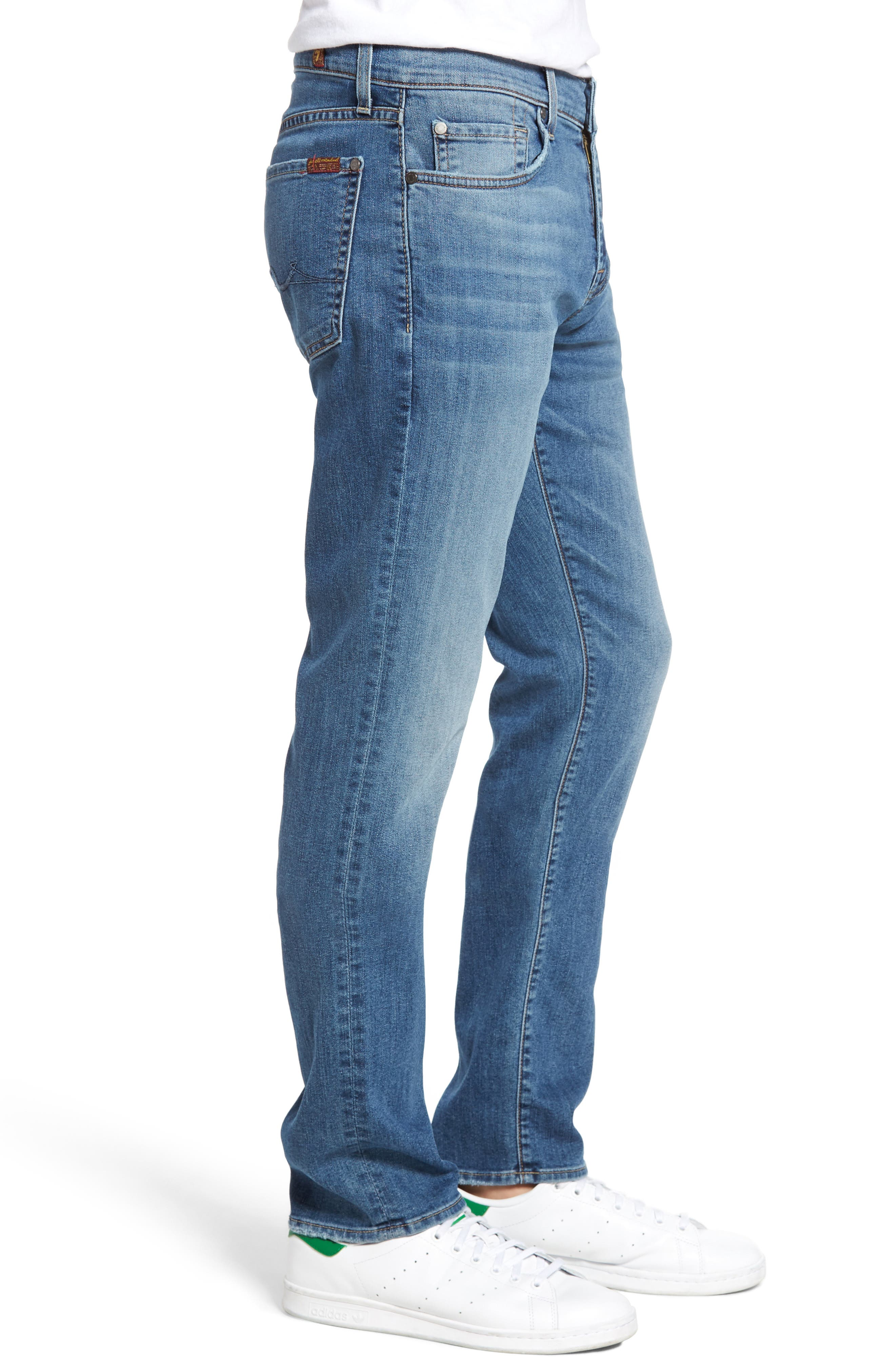 Alternate Image 3  - 7 For All Mankind® Slimmy Slim Fit Jeans (Almafi Coast)