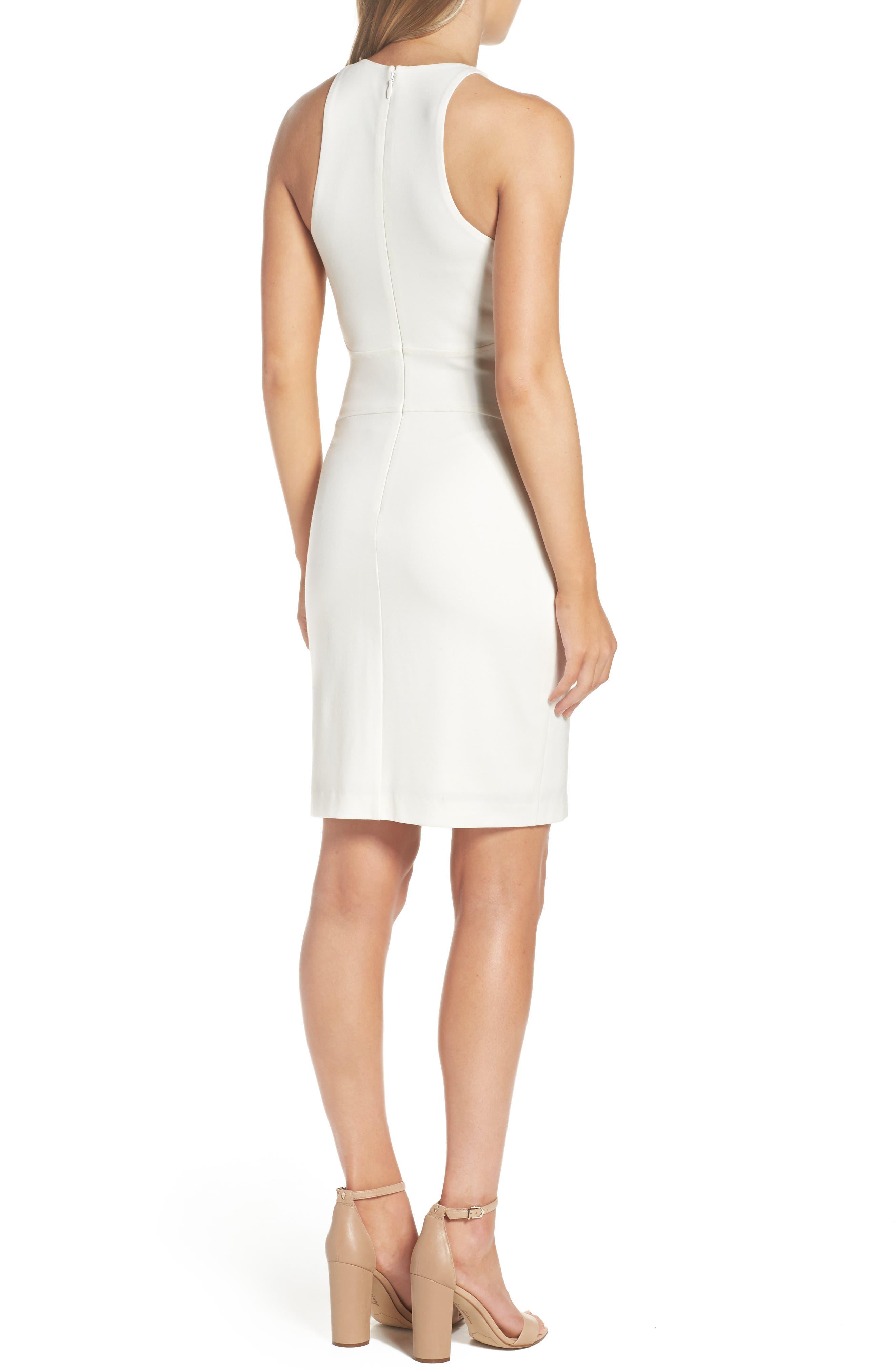 You Ruin Me Body-Con Dress,                             Alternate thumbnail 3, color,                             White