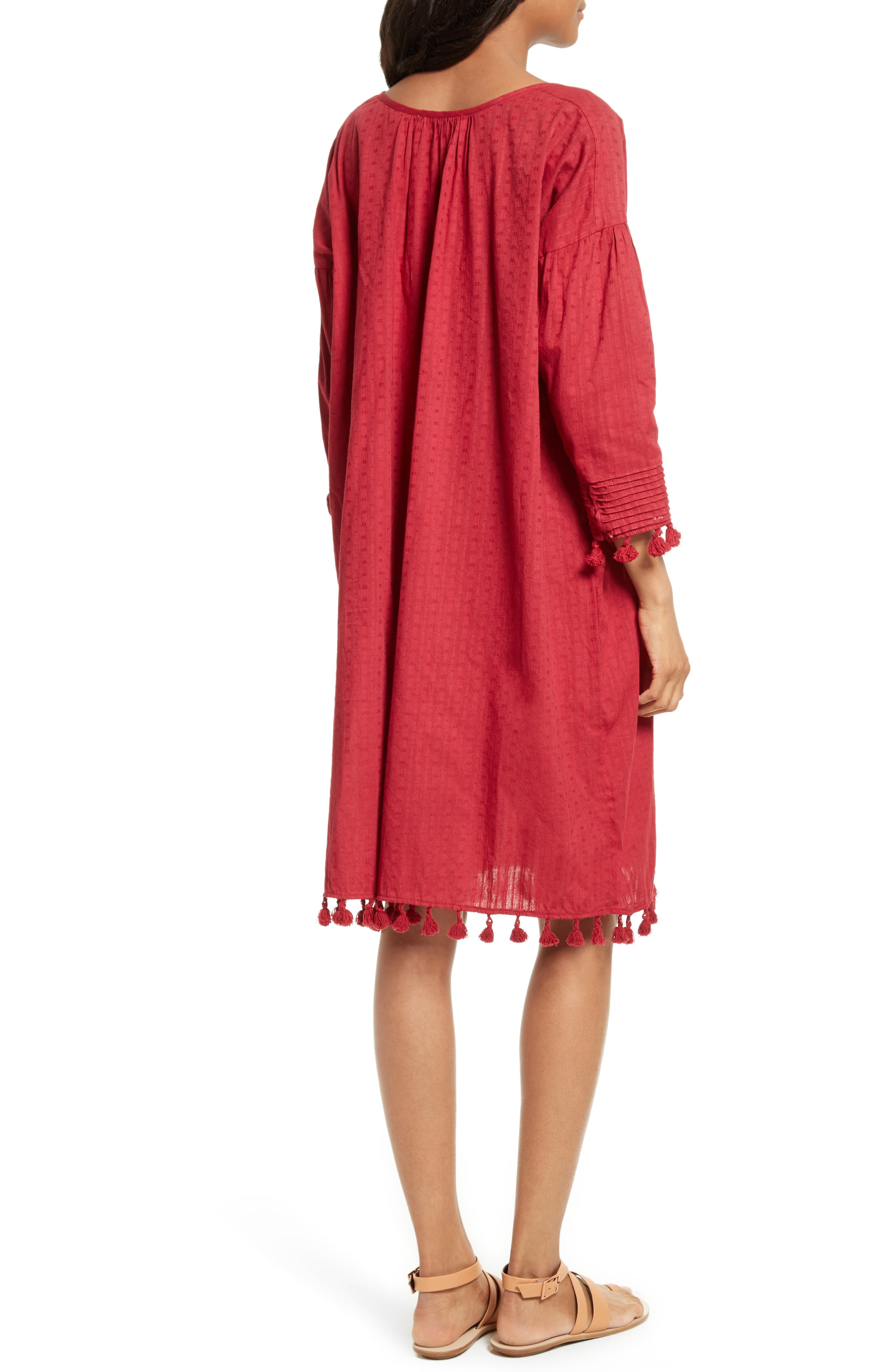 Alternate Image 2  - THE GREAT. The Tassel Tunic Dress