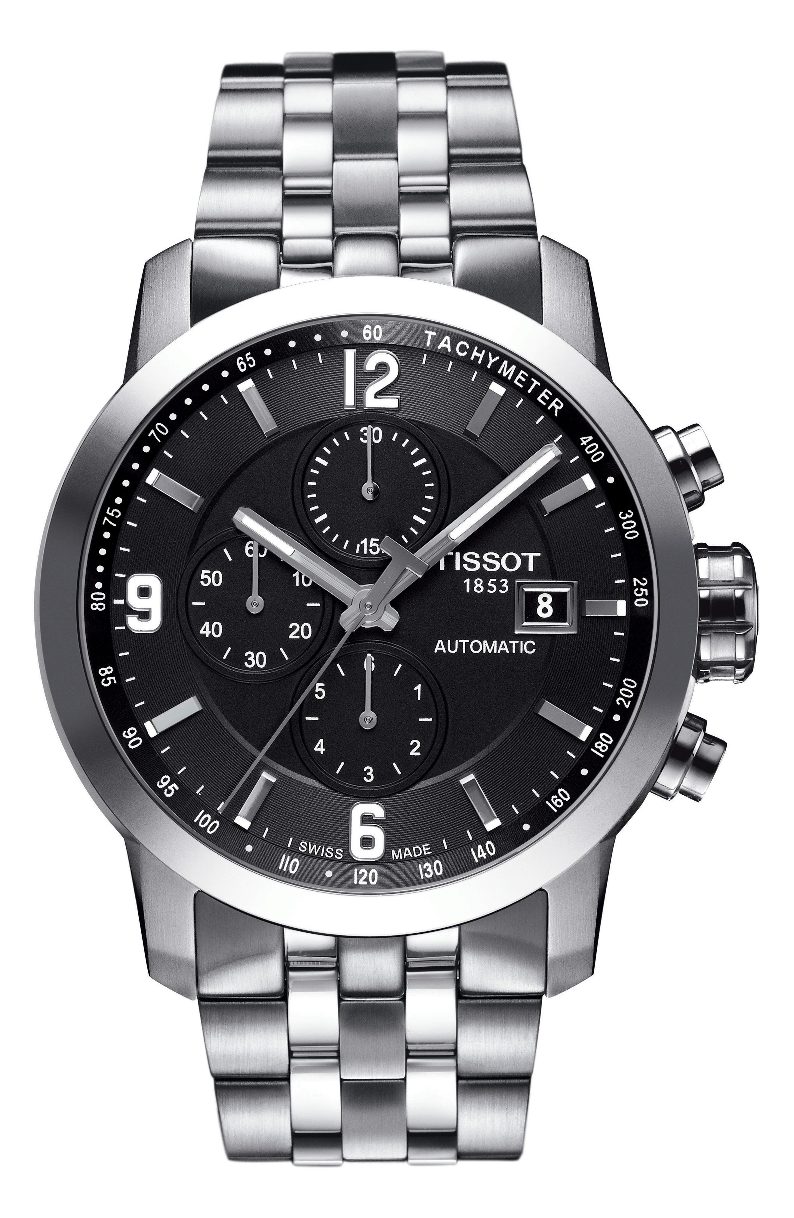 Tissot PRC200 Automatic Chronograph Bracelet Watch, 43mm