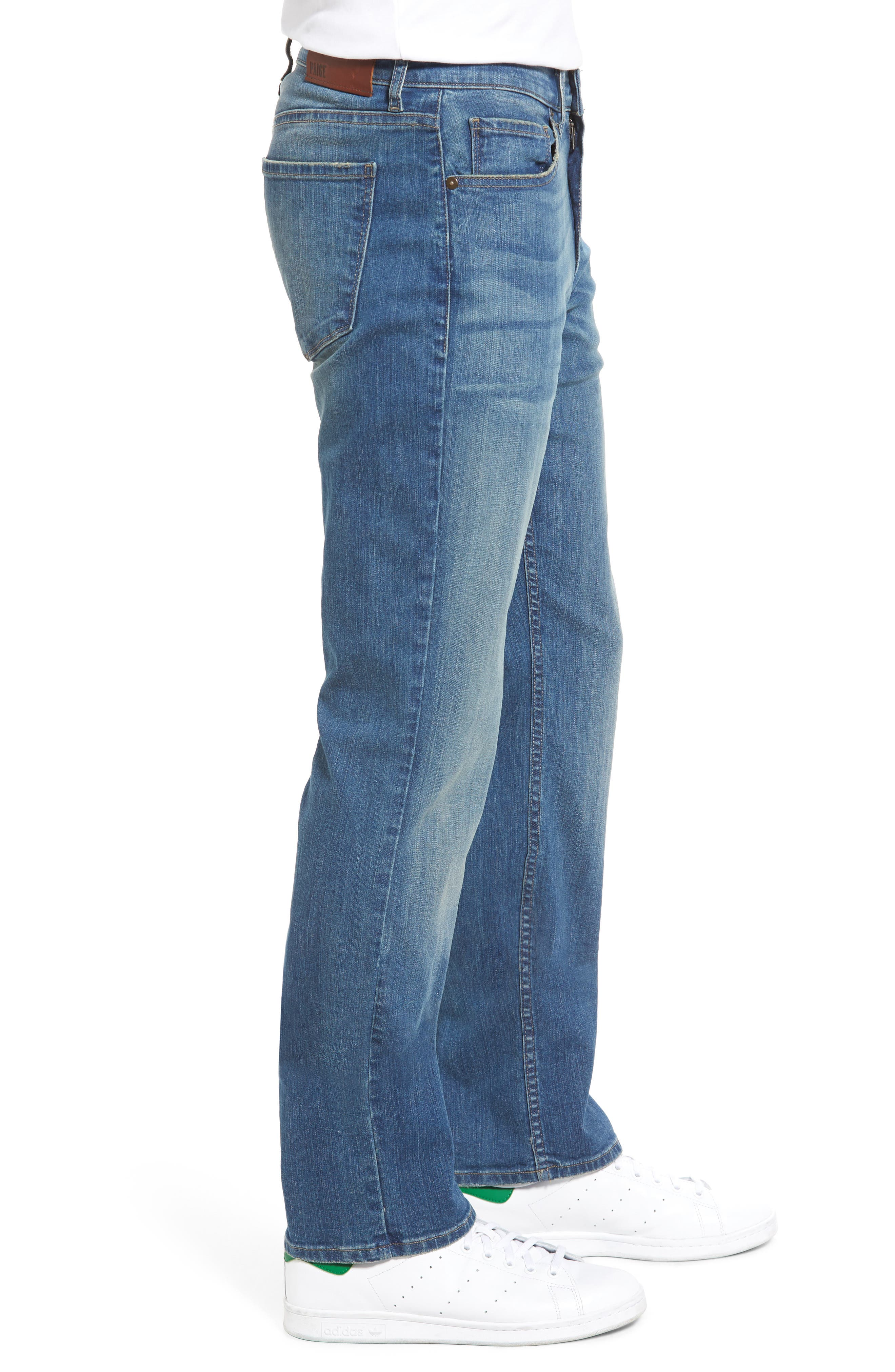 Alternate Image 3  - PAIGE Legacy - Doheny Relaxed Fit Jeans (Cash)