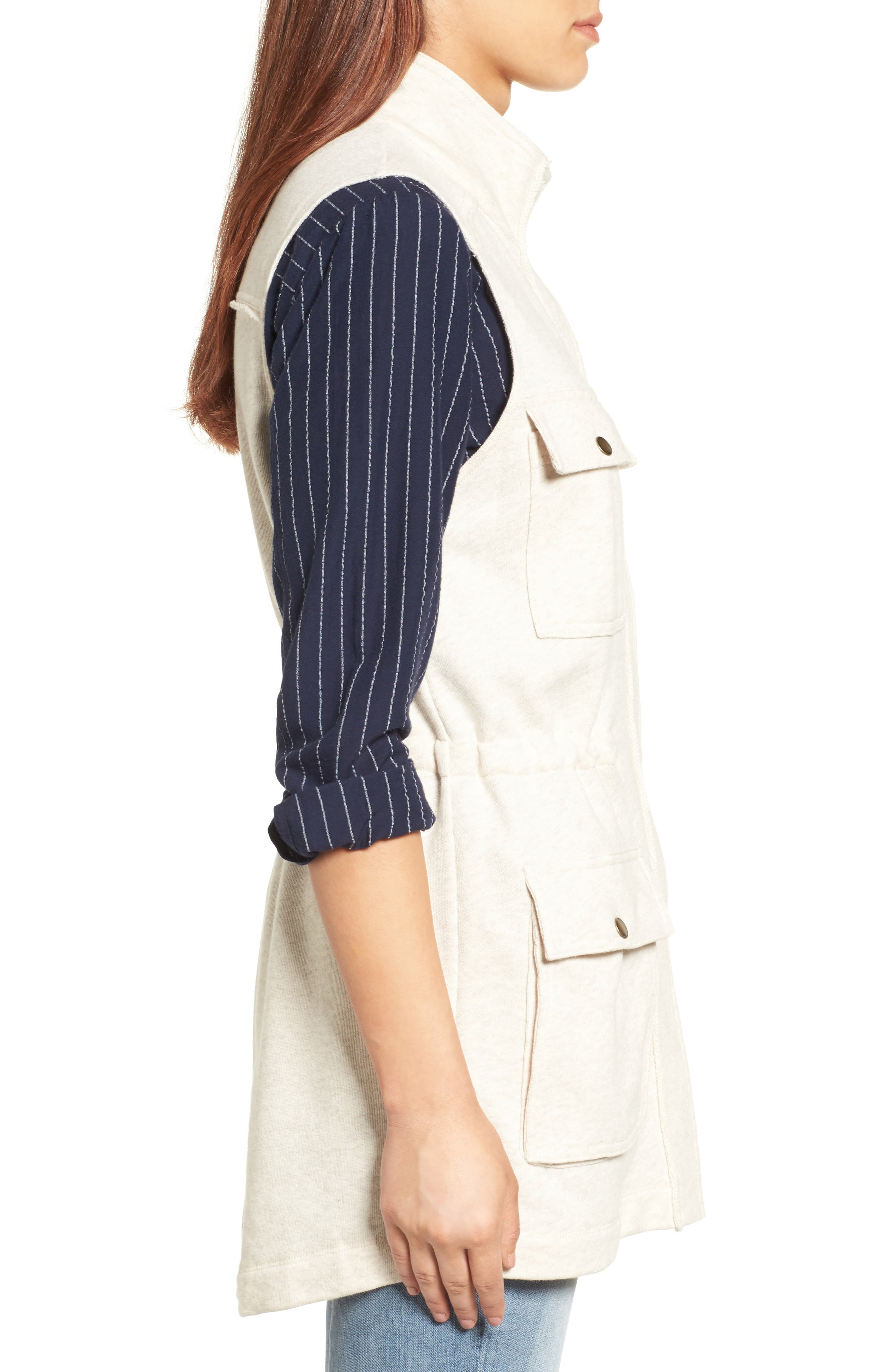 Alternate Image 3  - Caslon® Utility Vest (Regular & Petite)