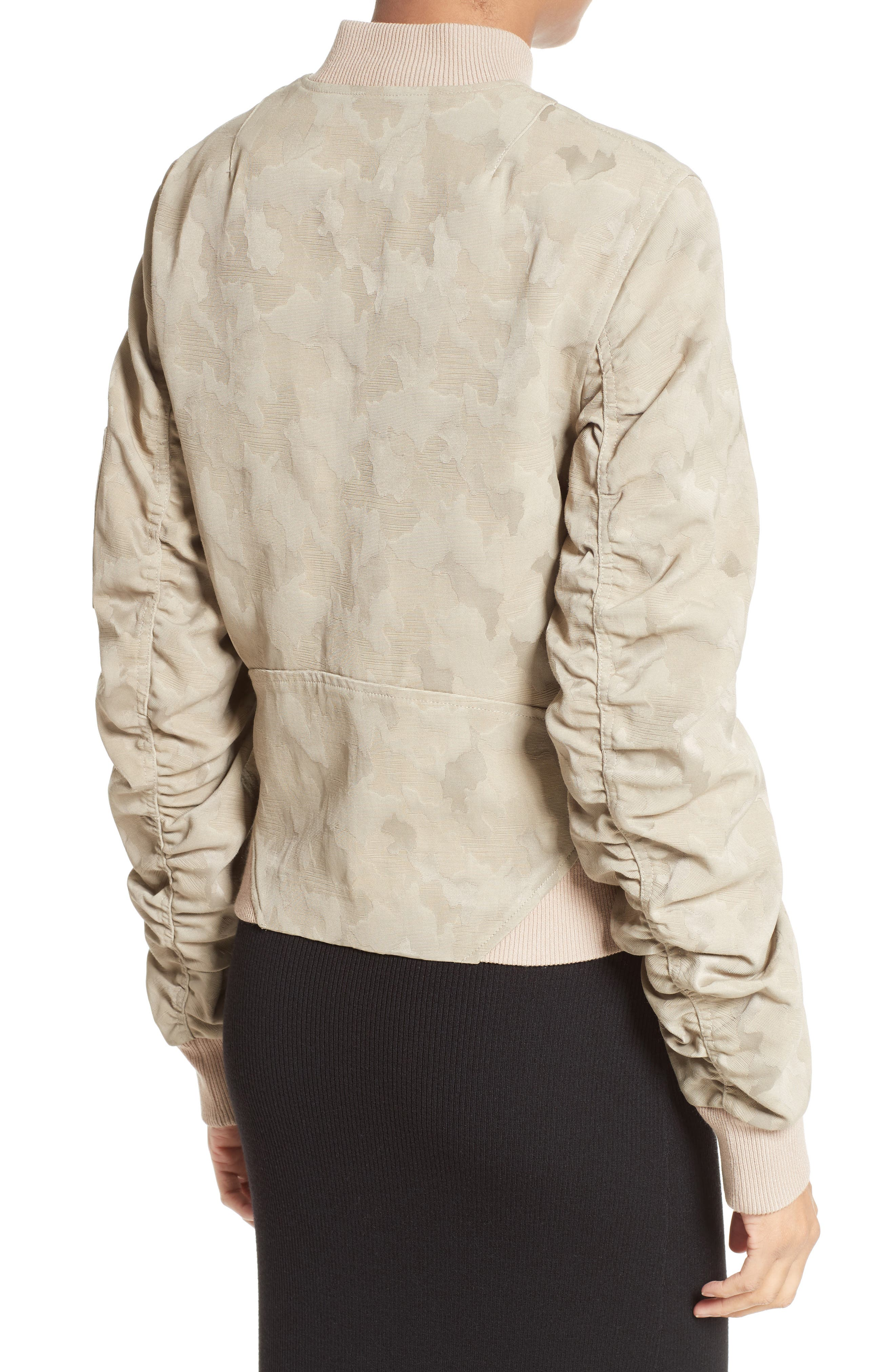 Alternate Image 3  - A.L.C. Andrew Brocade Bomber Jacket