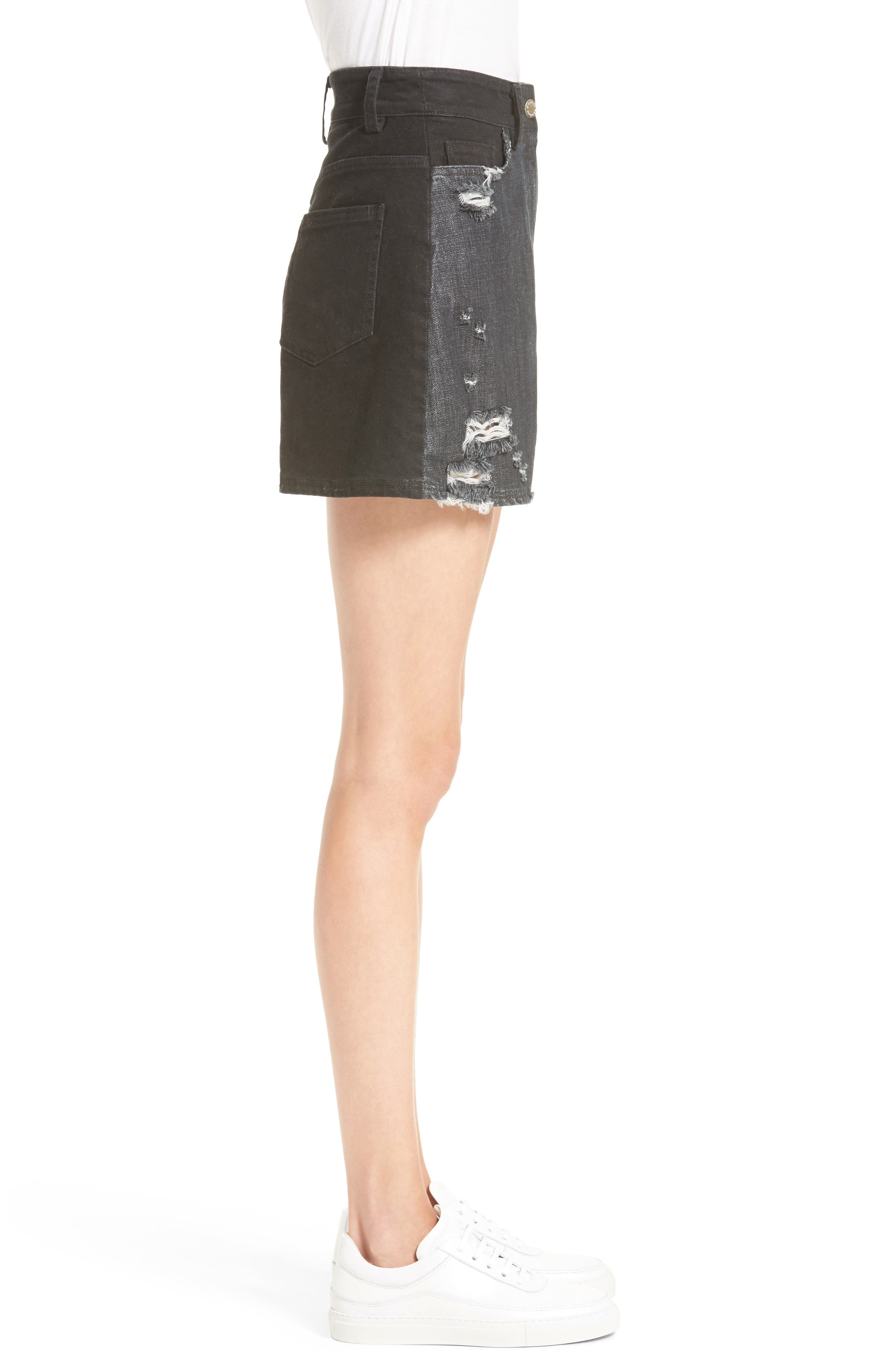 Alternate Image 4  - Public School Thana Denim Shorts