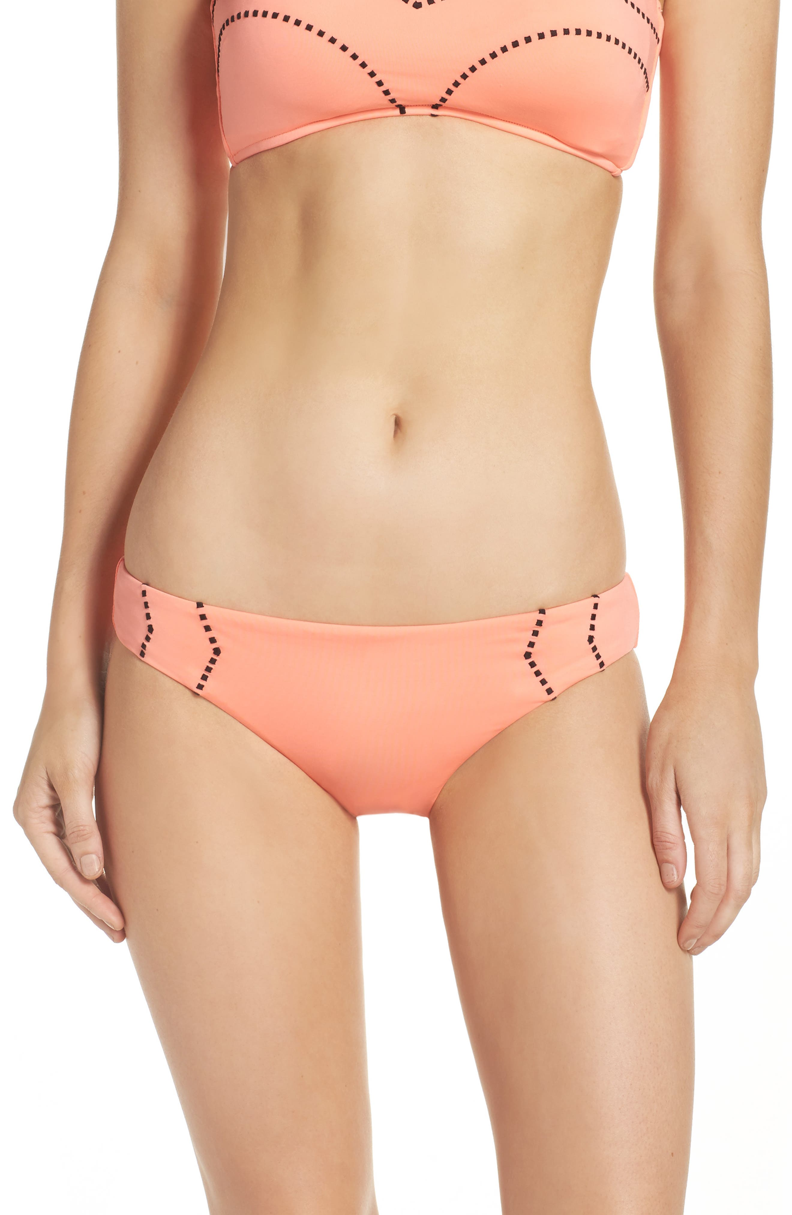 Alternate Image 1 Selected - Seafolly Beach Squad Hipster Bikini Bottoms