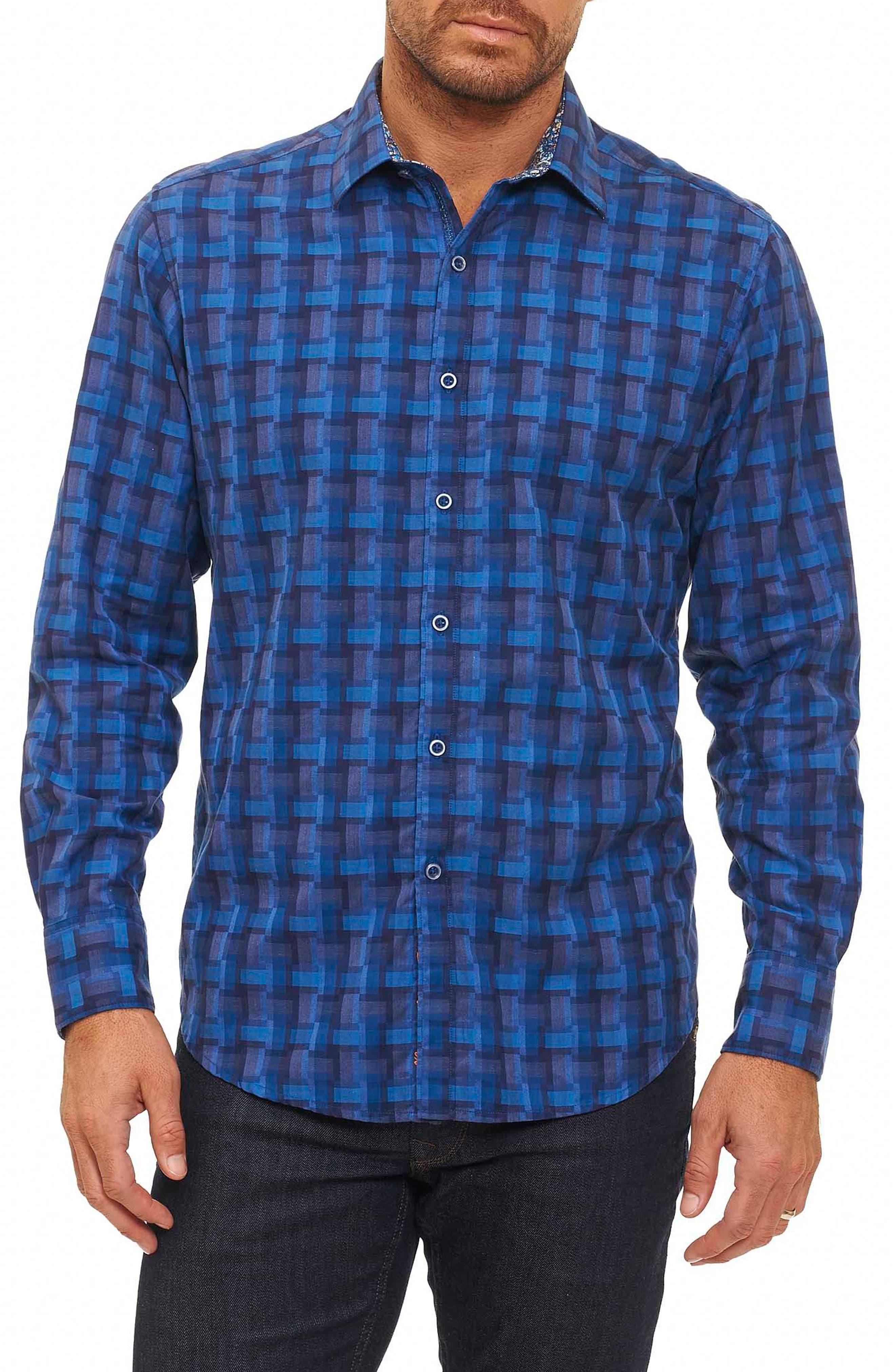 Alternate Image 1 Selected - Robert Graham Burman Classic Fit Sport Shirt