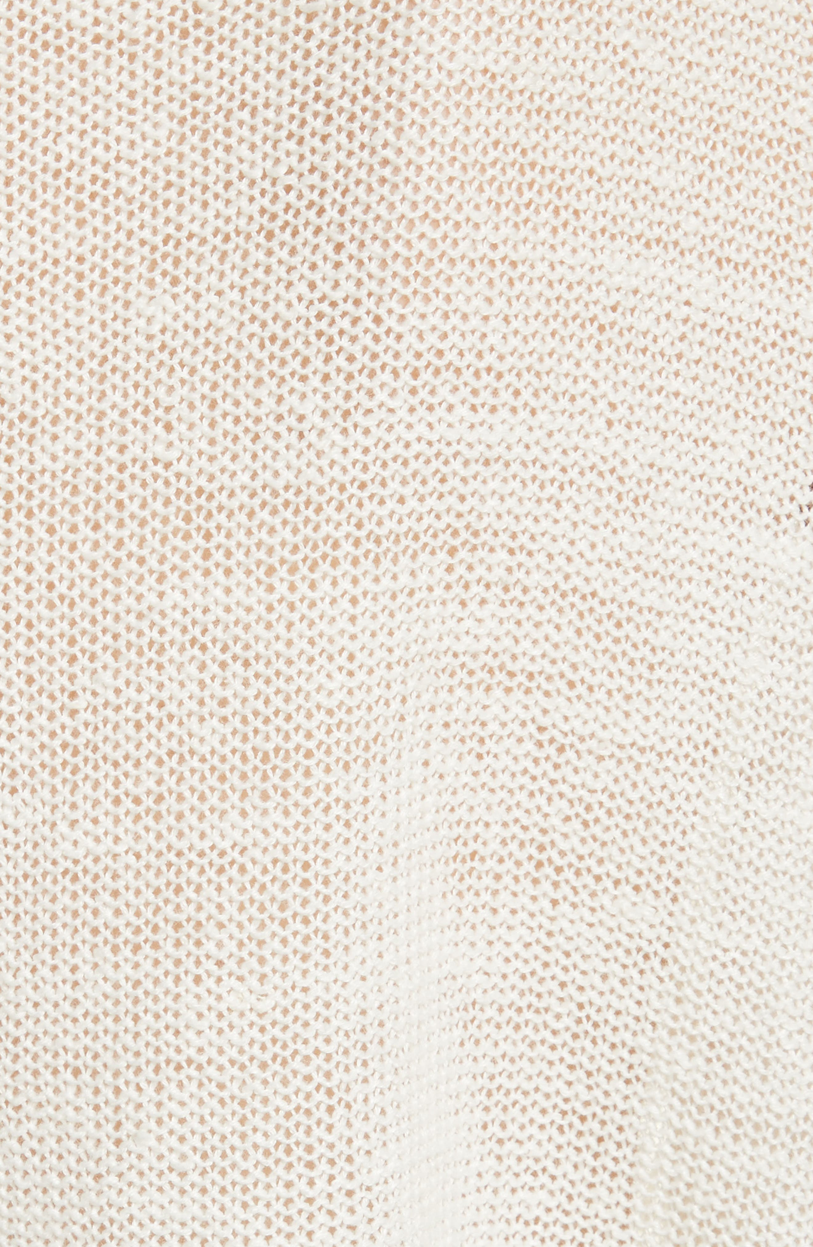 Alternate Image 5  - Joie Clady Linen Open Knit Pullover