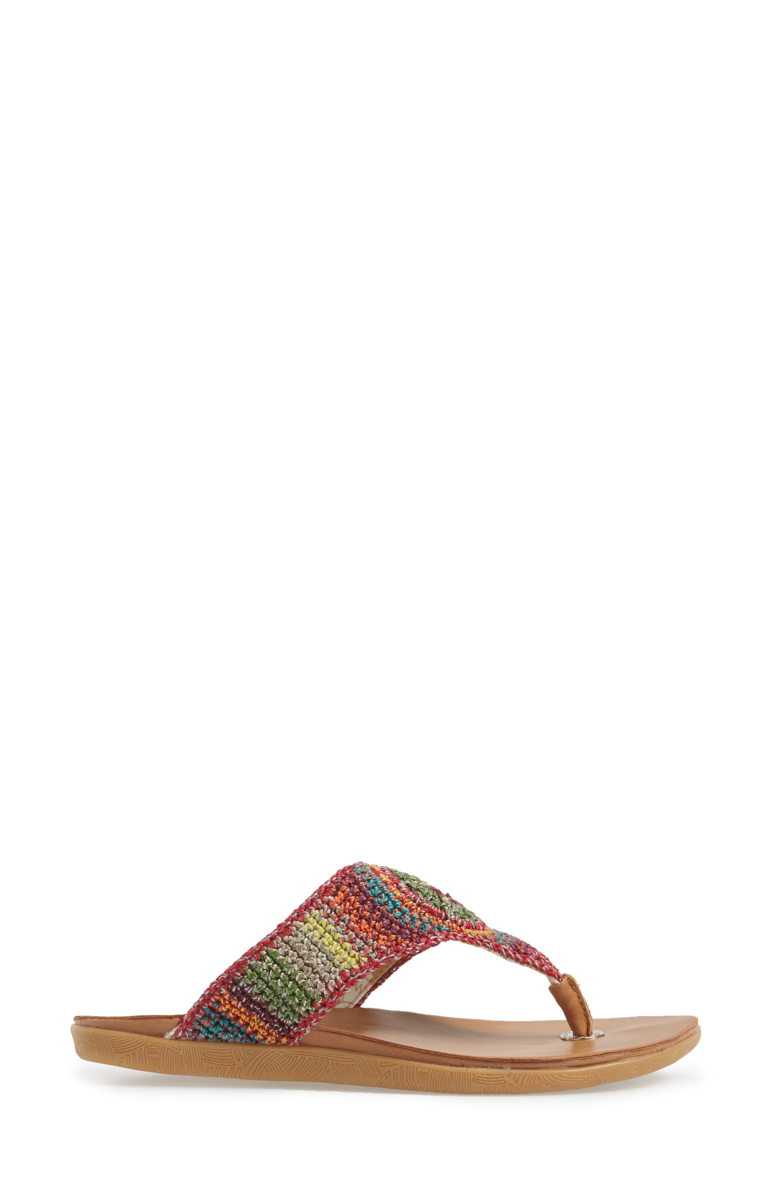 Alternate Image 3  - Sakroots Sarria Flip Flop (Women)