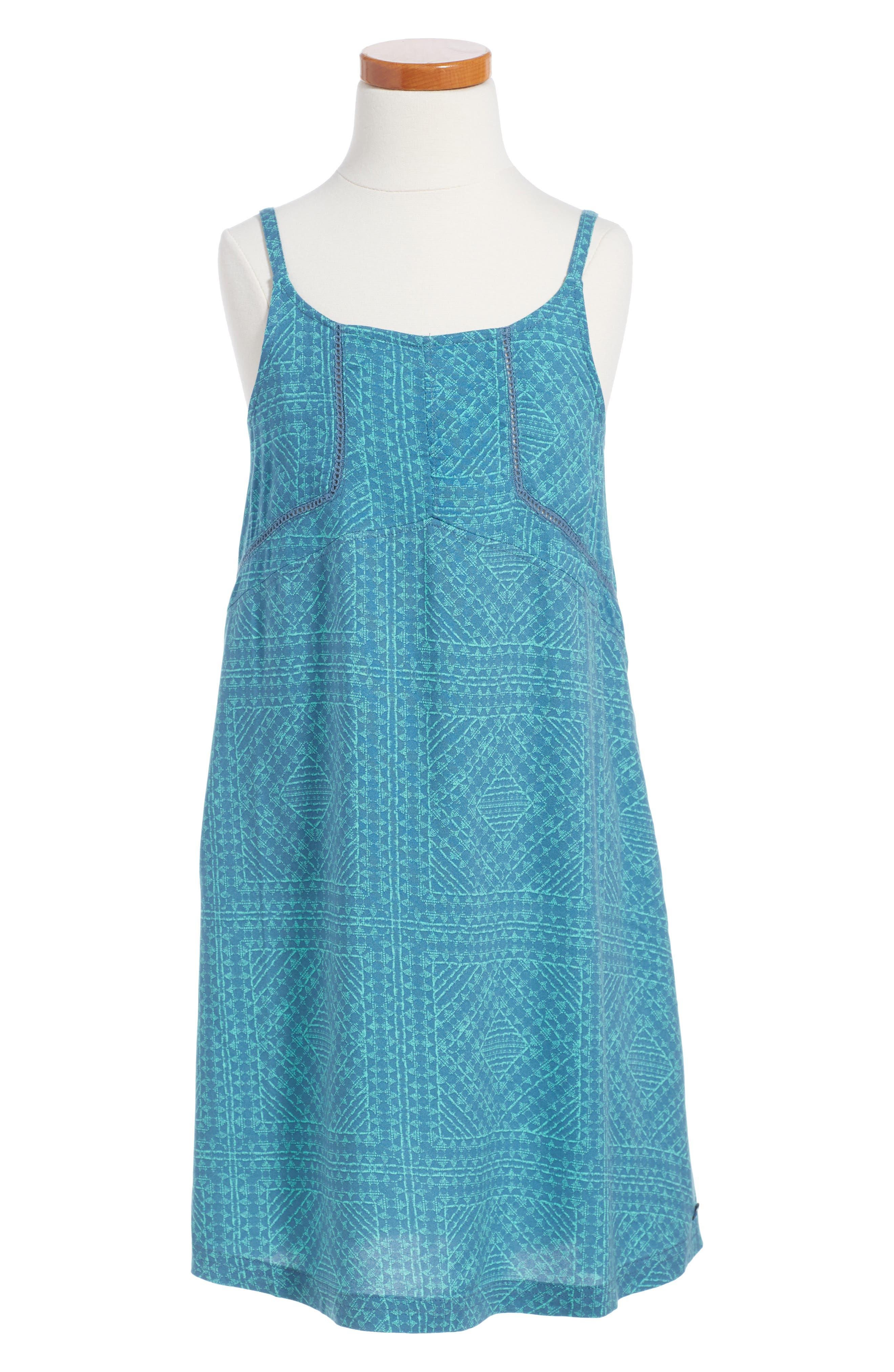 Alternate Image 1 Selected - Roxy Welcome Dear Swing Dress (Big Girls)