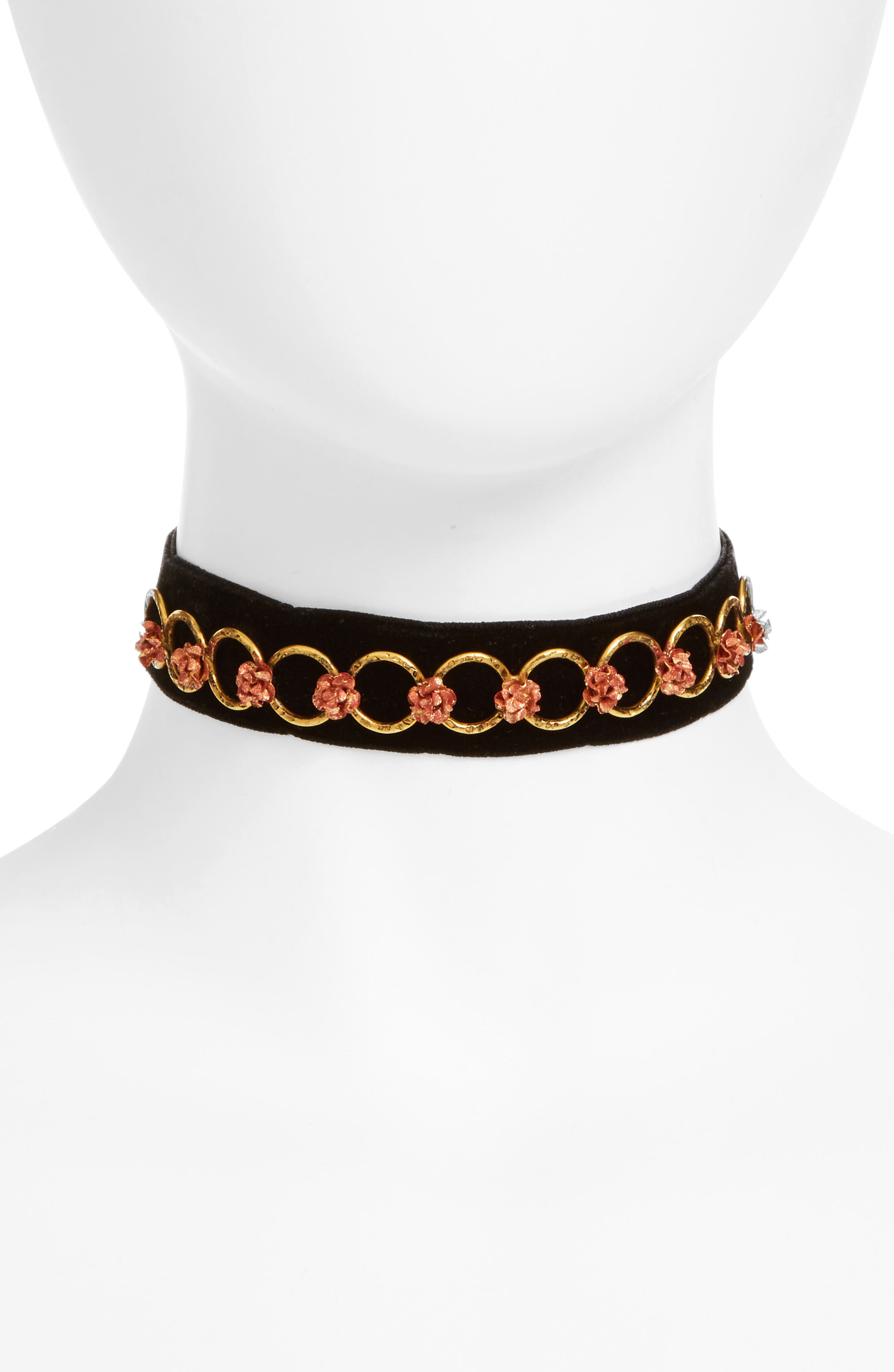 Virgins Saints & Angels Coronation Roses Choker