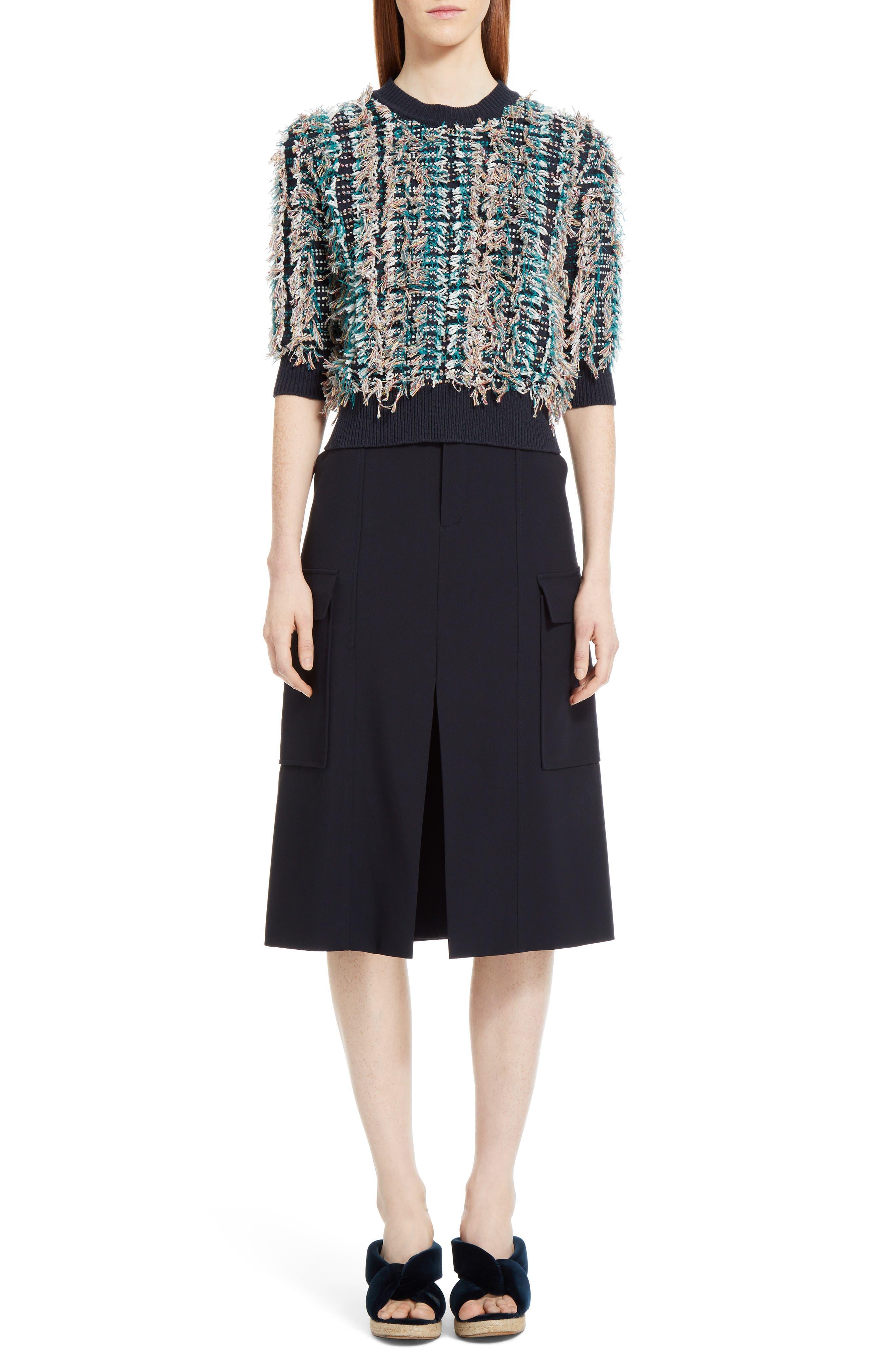 Cady Skirt,                             Alternate thumbnail 7, color,                             Blue