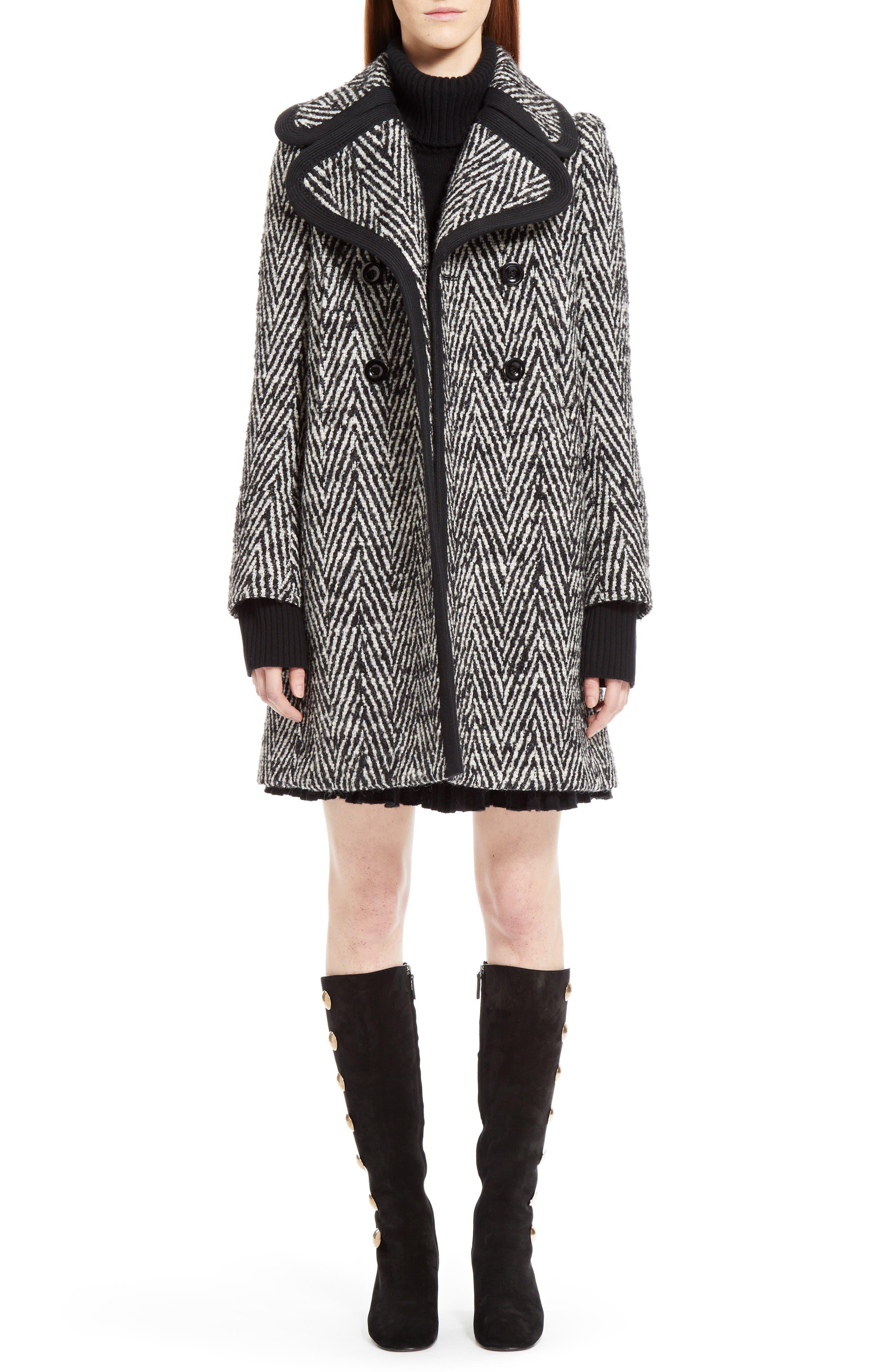 Alternate Image 7  - Chloé Cashmere Pleated Turtleneck Dress