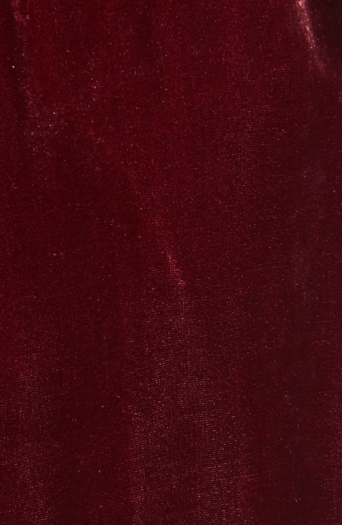 Velvet Midi Skirt,                             Alternate thumbnail 6, color,                             Wine