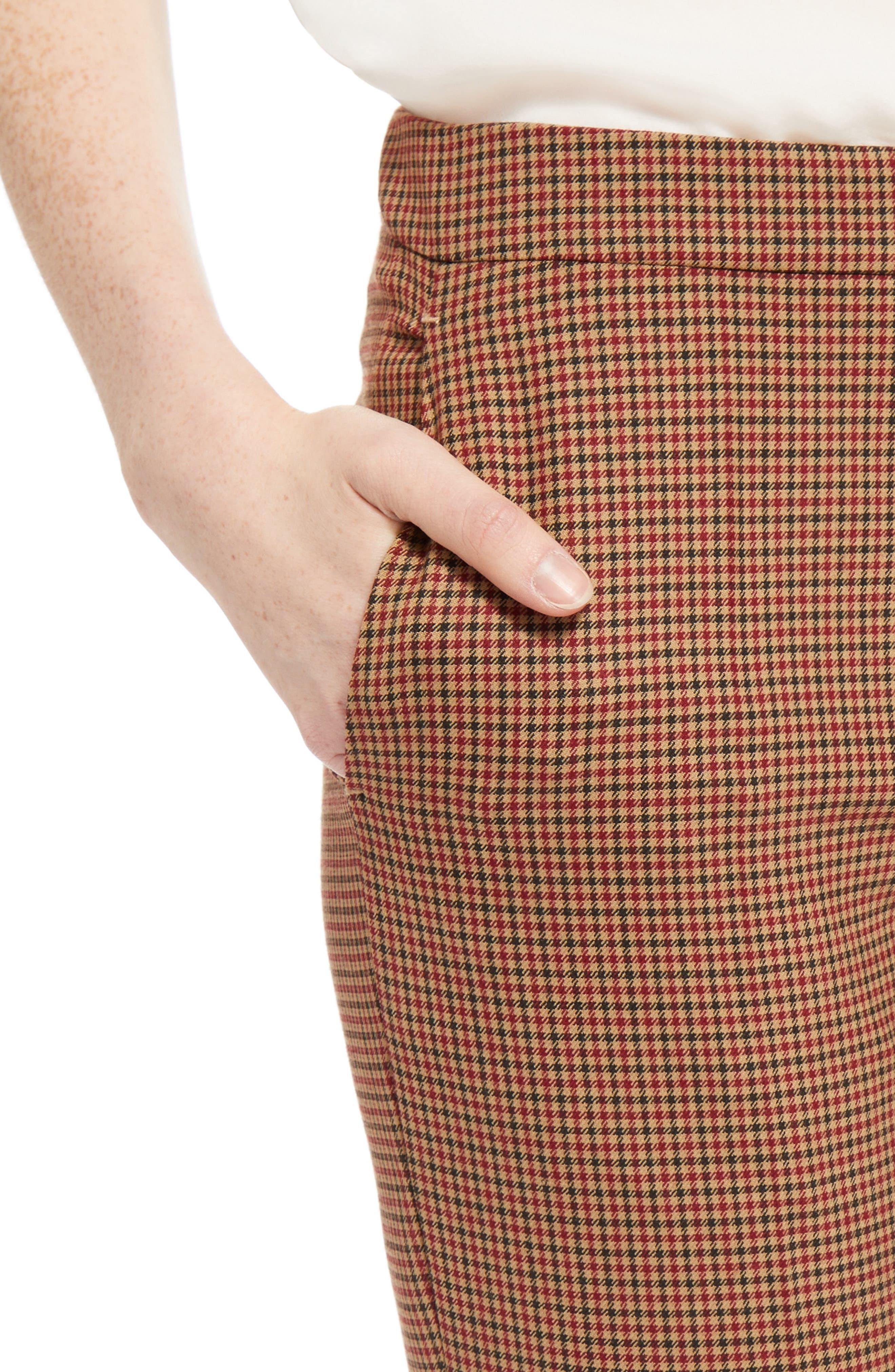 Alternate Image 5  - Chloé Check Crop Pants