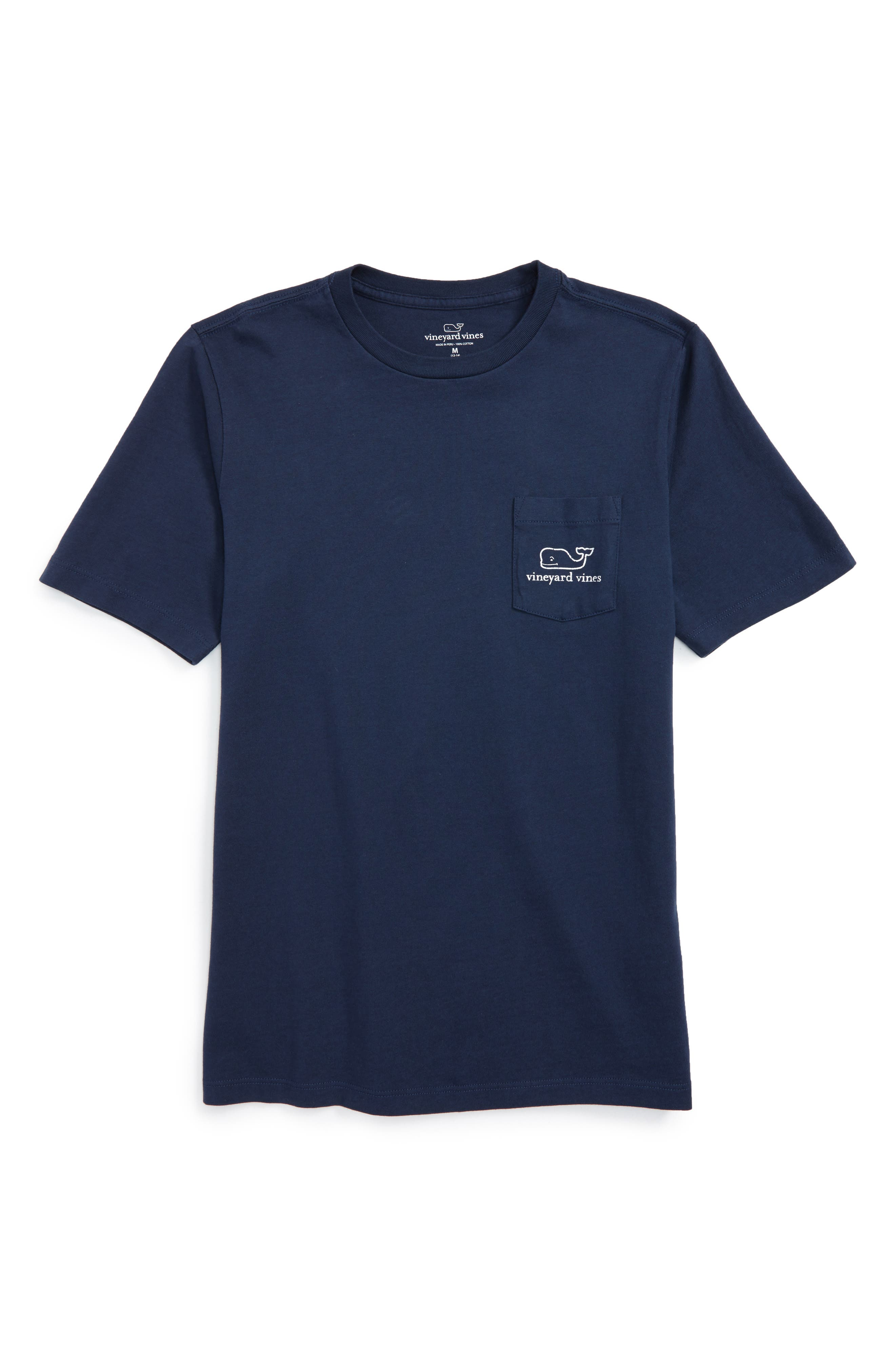 Alternate Image 1 Selected - vineyard vines Vintage Whale Pocket T-Shirt (Toddler Boys & Little Boys)