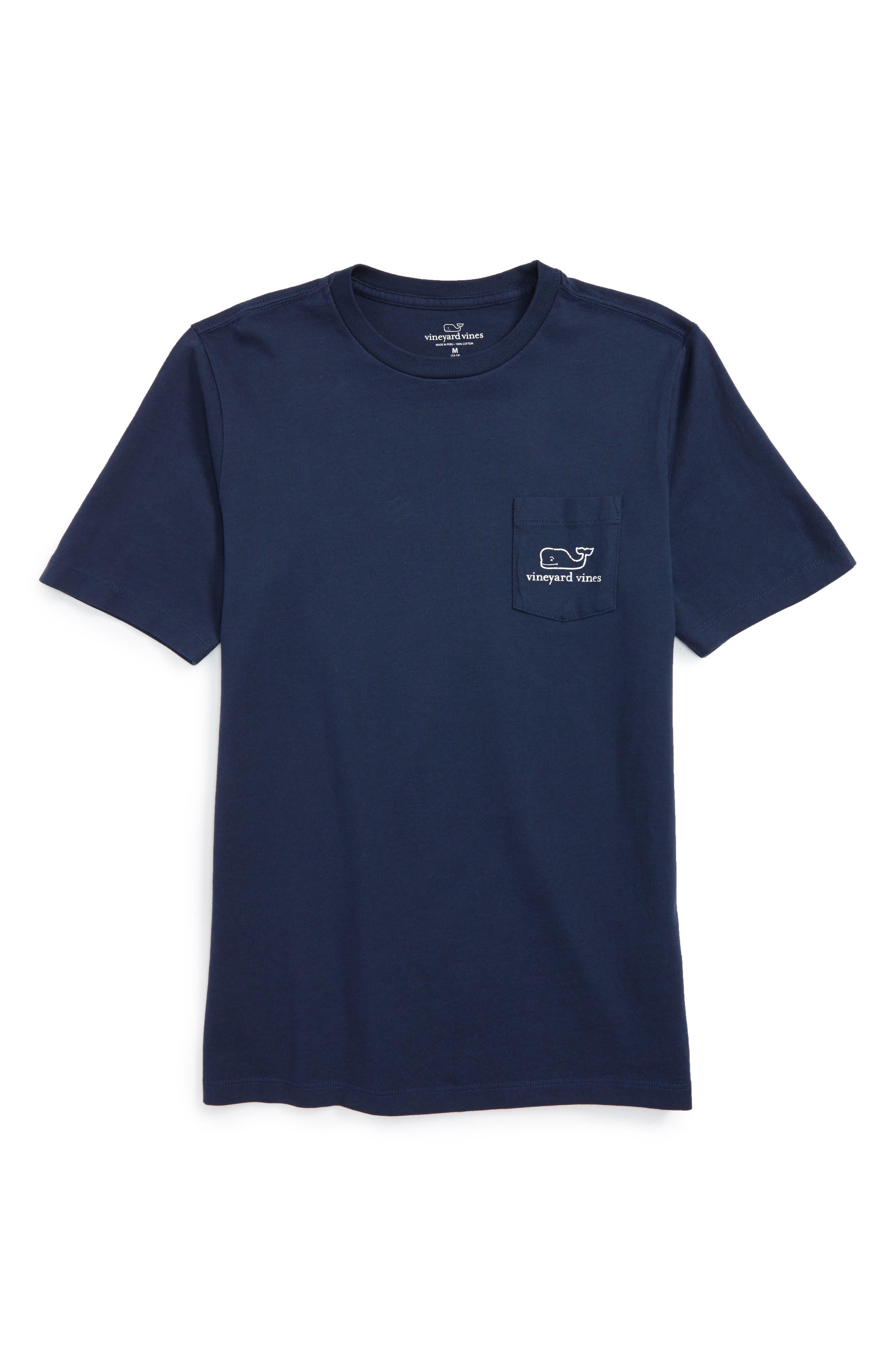 Main Image - vineyard vines Vintage Whale Pocket T-Shirt (Toddler Boys & Little Boys)