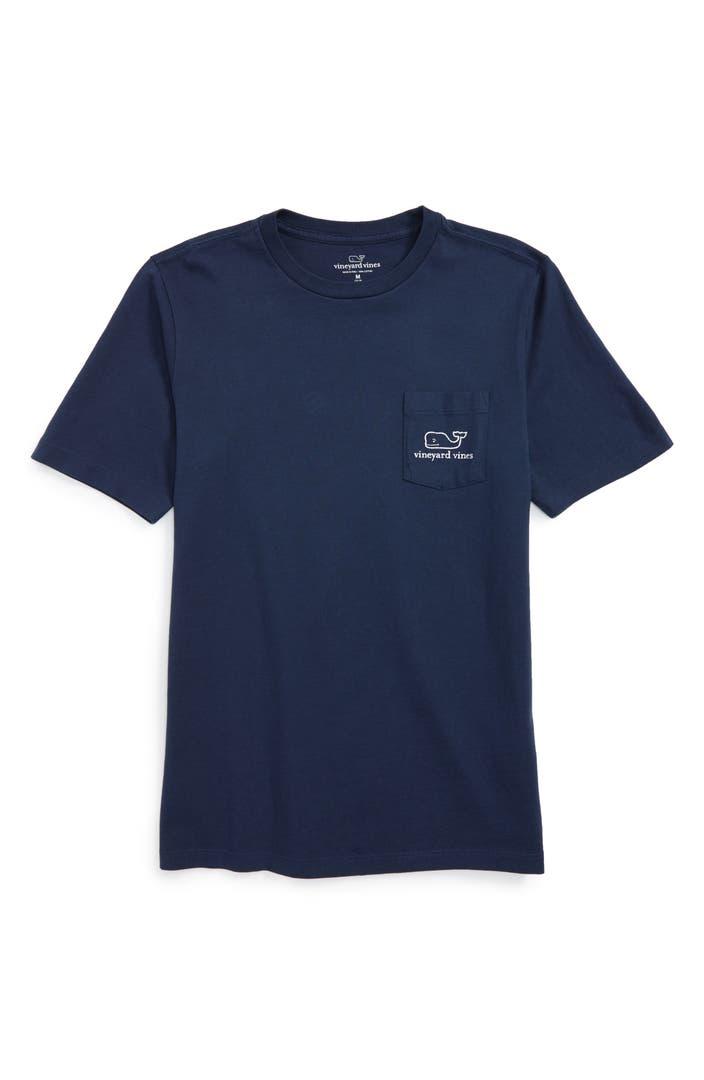 Vineyard vines 39 vintage whale 39 pocket t shirt toddler for Boys pocket t shirt