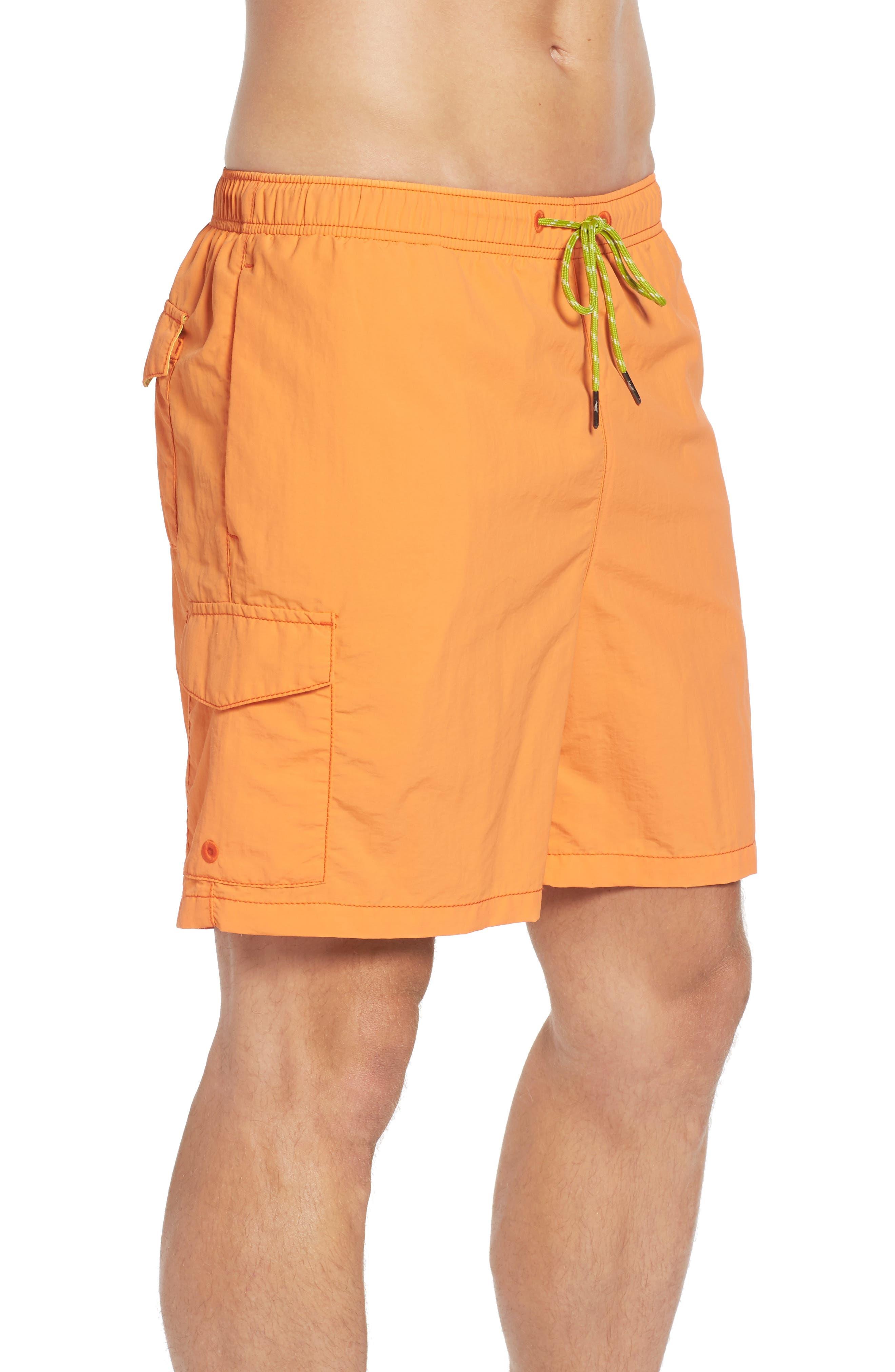 Alternate Image 4  - Tommy Bahama Naples Happy Go Cargo Swim Trunks