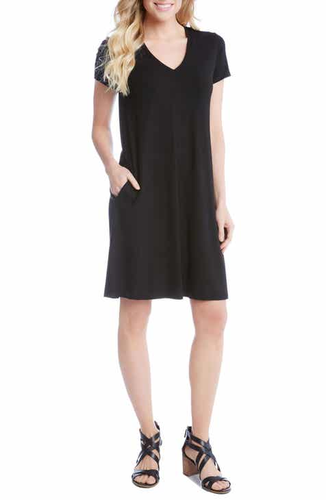 Karen Kane Quinn Pocket Shift Dress Top Reviews