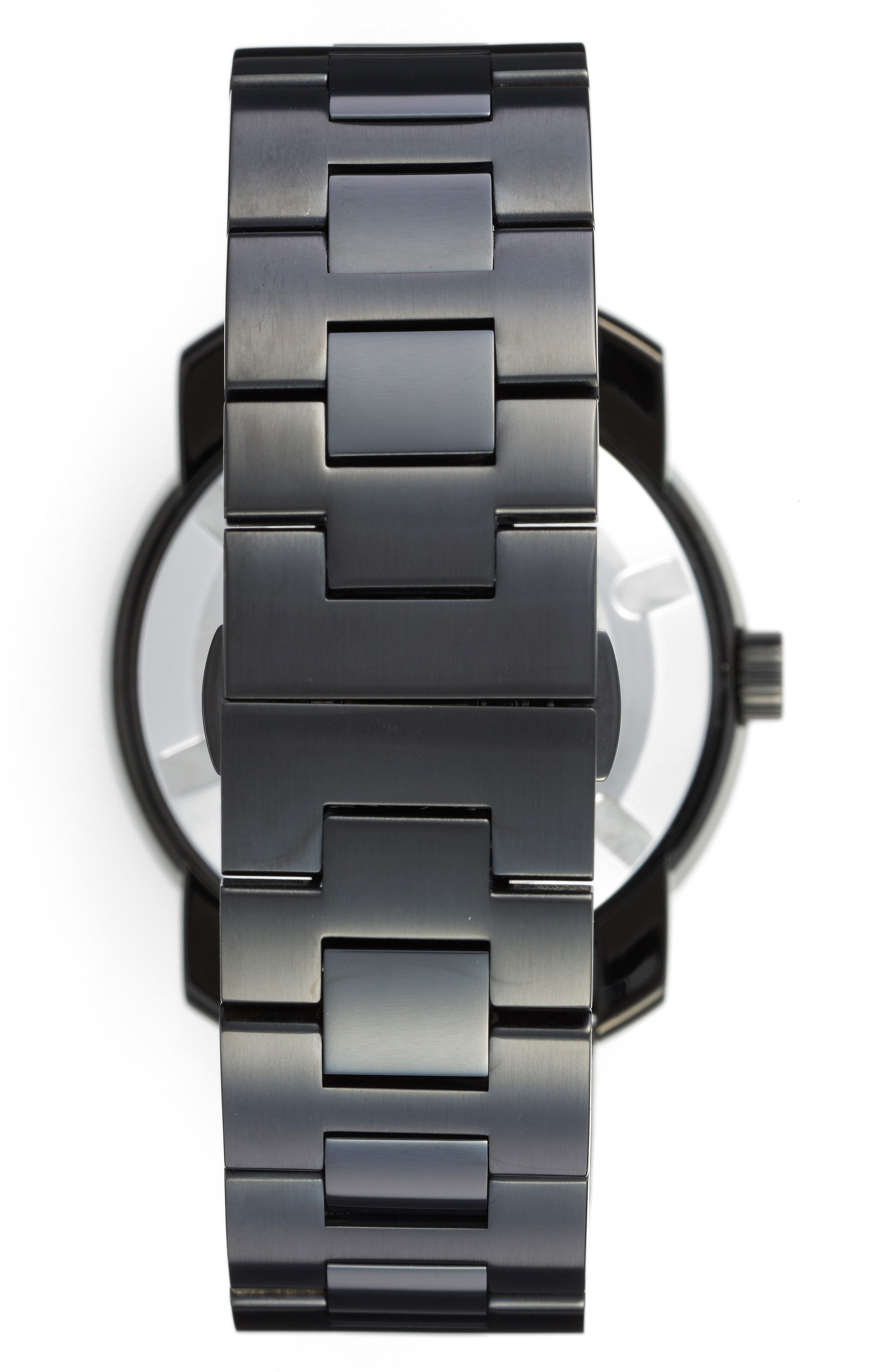 Bold Bracelet Watch, 42mm,                             Alternate thumbnail 2, color,                             Black