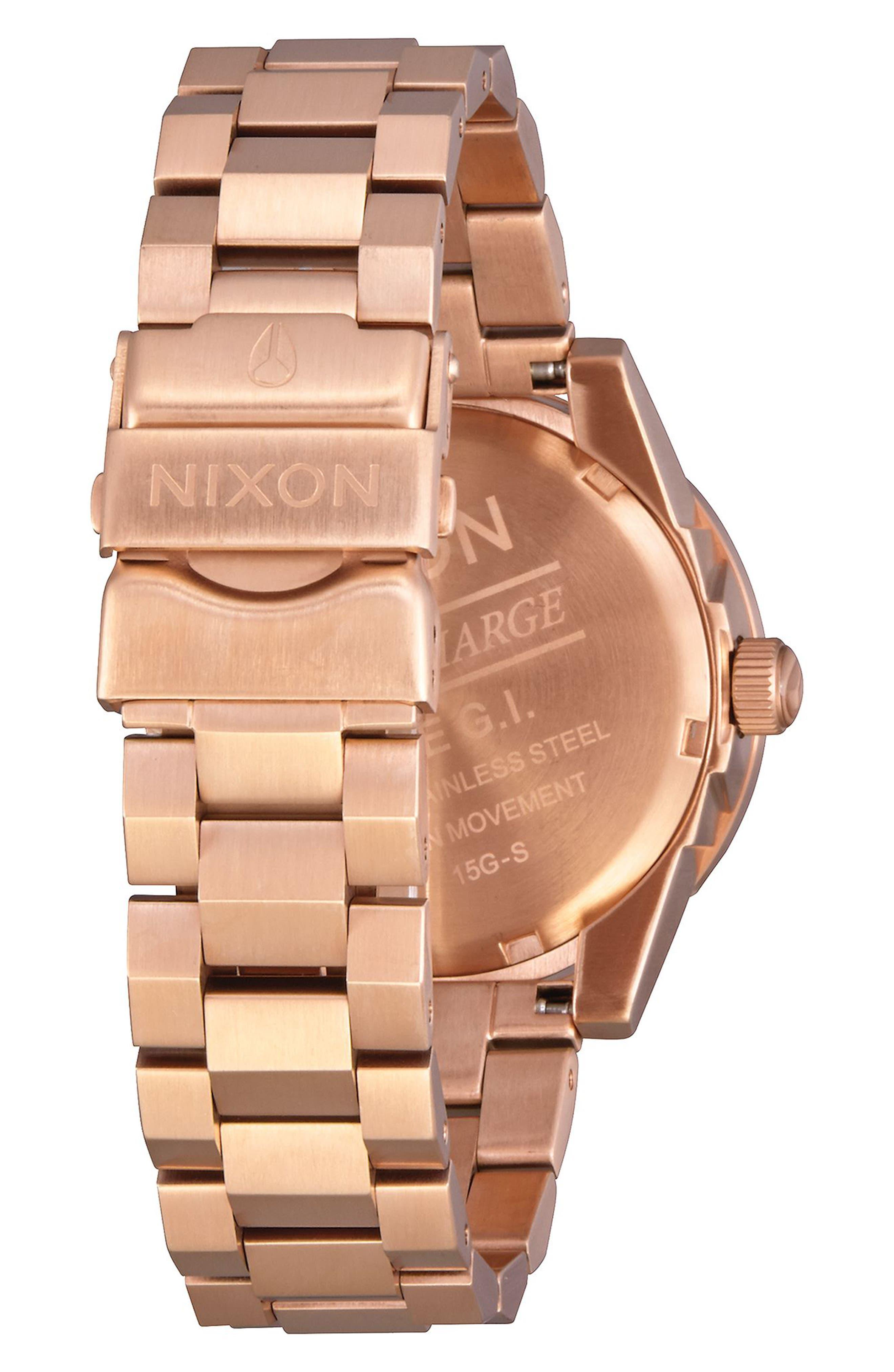 Alternate Image 2  - Nixon GI Bracelet Watch, 36mm