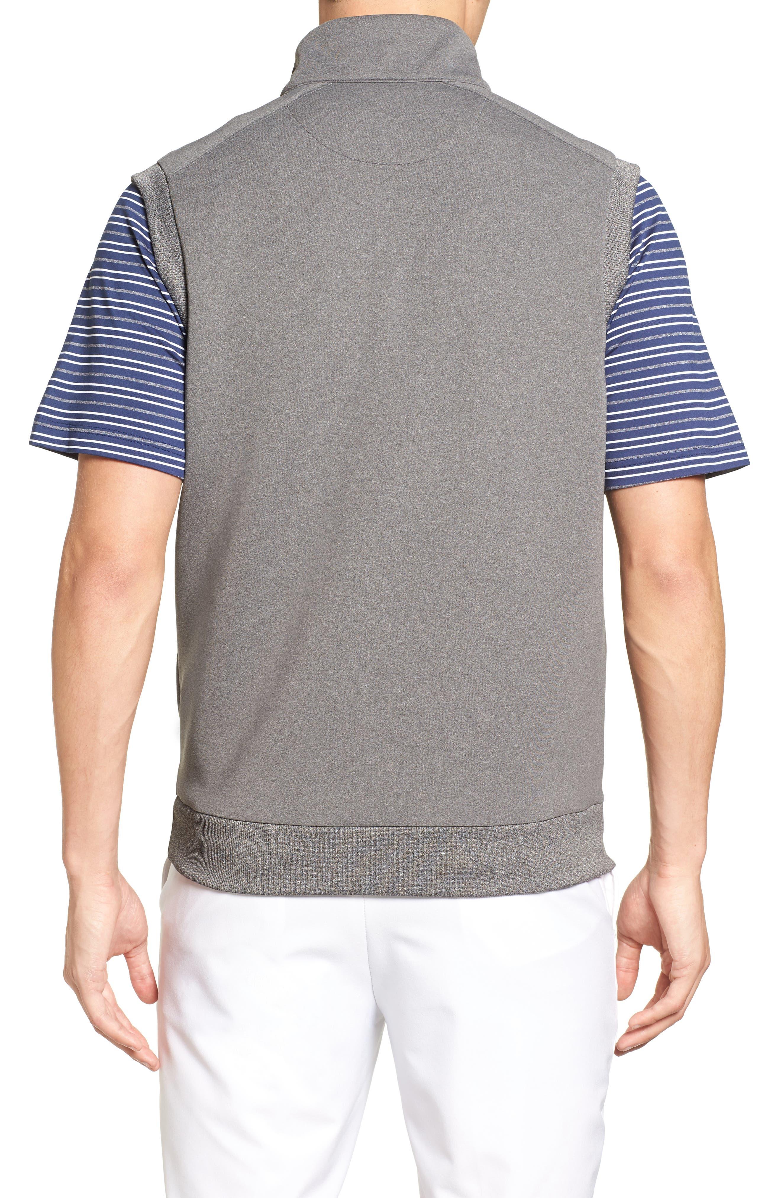 Alternate Image 2  - Bobby Jones Rule 18 Tech Quarter Zip Vest