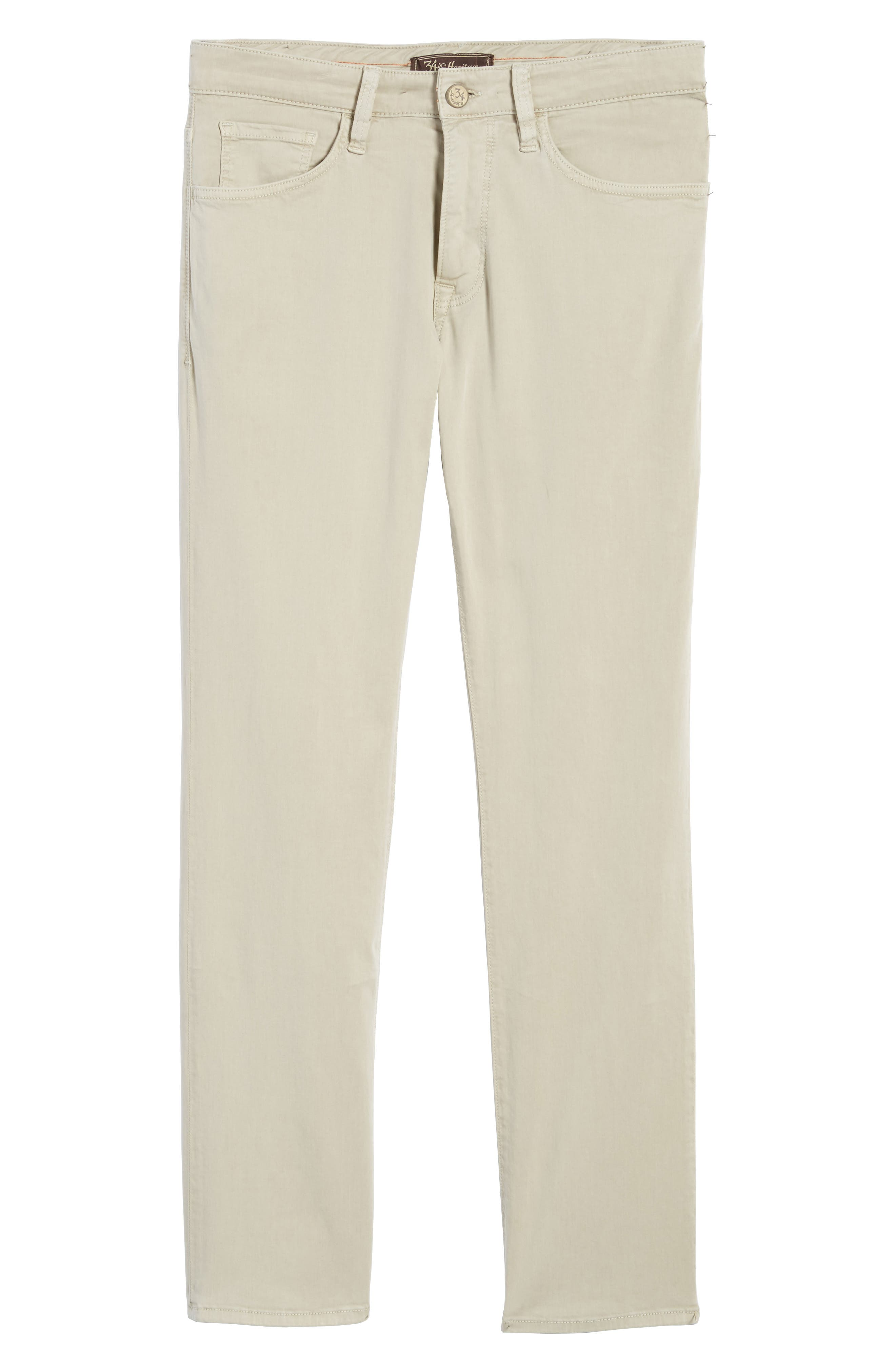Courage Straight Leg Jeans,                             Alternate thumbnail 6, color,                             Stone Twill