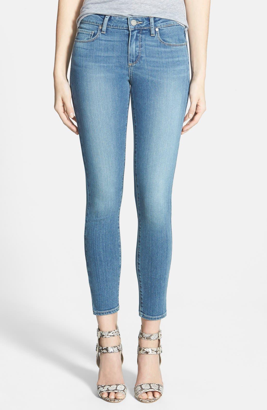 Main Image - Paige Denim 'Verdugo' Ankle Skinny Jeans (Tegan)