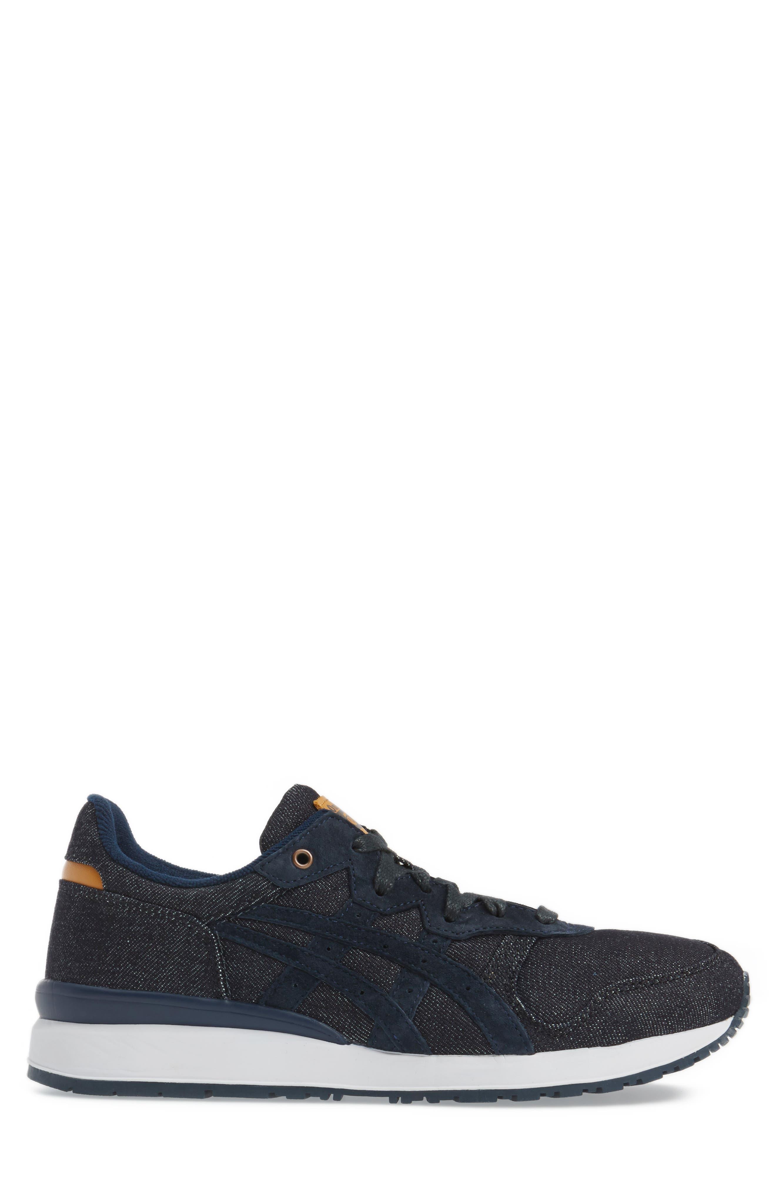 Onitsuka Tiger Ally Sneaker,                             Alternate thumbnail 3, color,                             Indigo Blue/ Indigo Blue