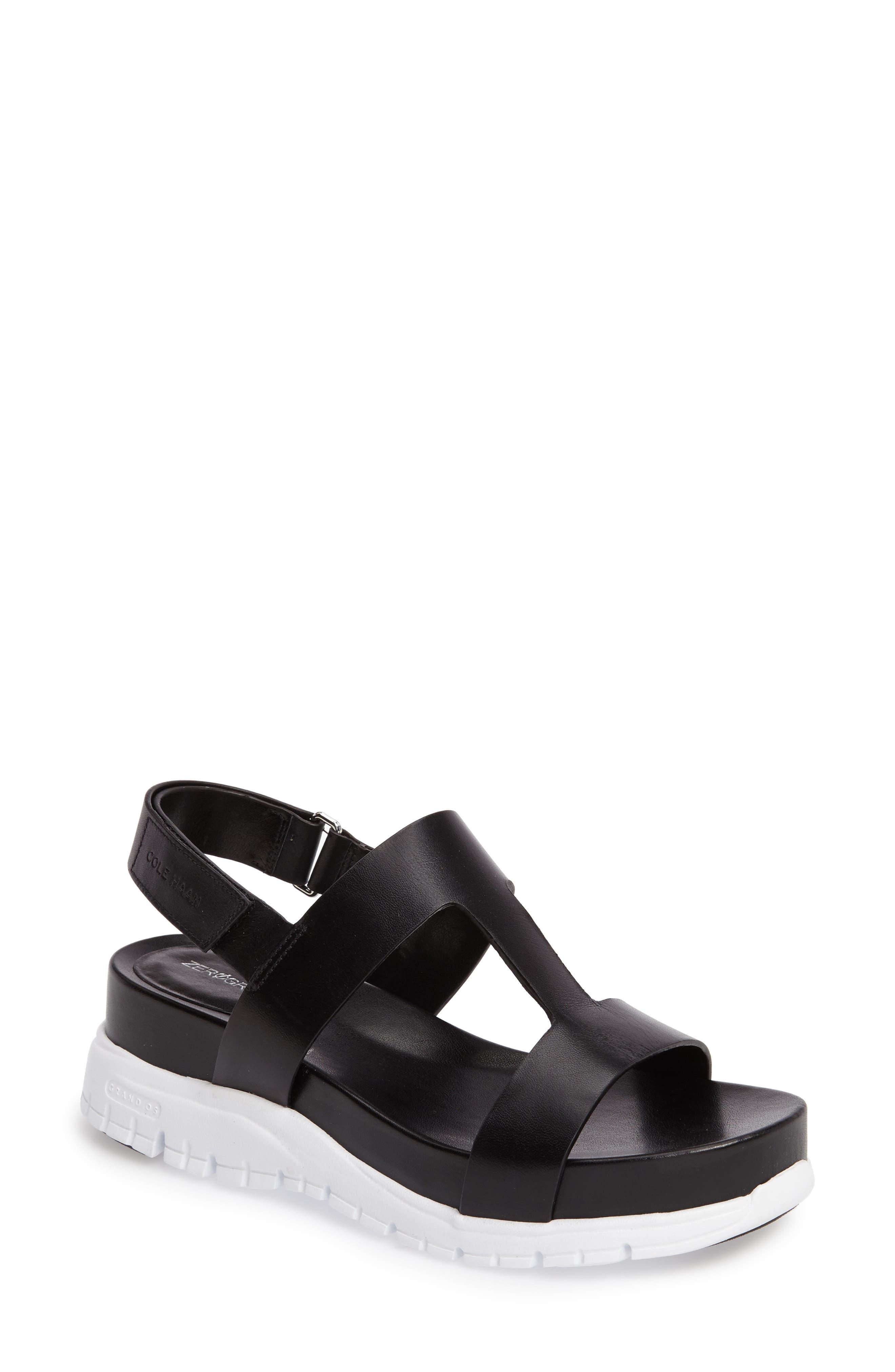 COLE HAAN ZeroGrand T-Strap Sandal