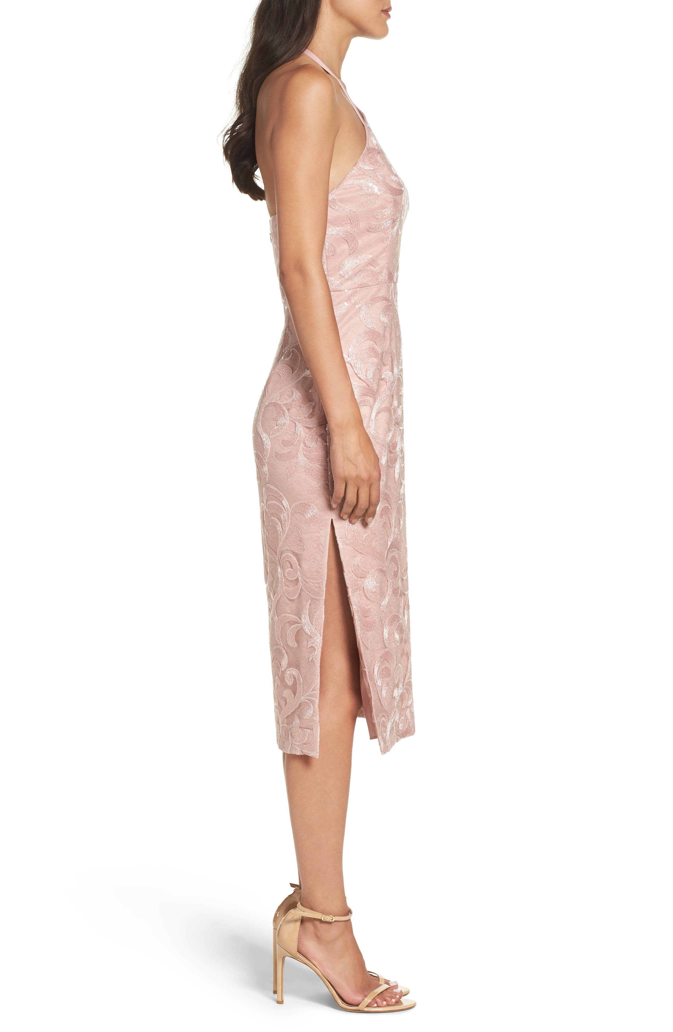 Alternate Image 3  - Vera Wang Asymmetrical Midi Dress