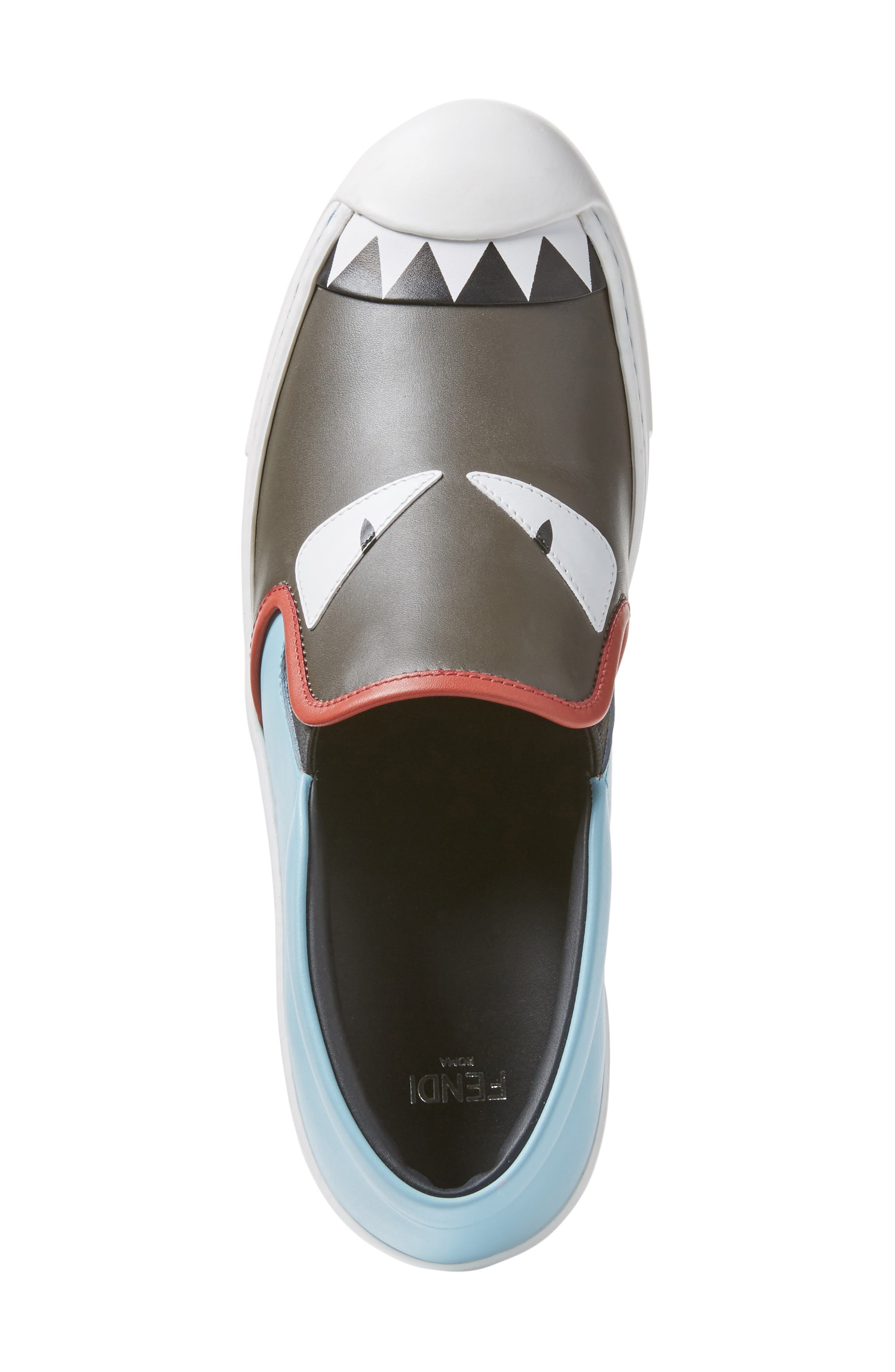 Alternate Image 4  - Fendi Monster Sneaker (Women)