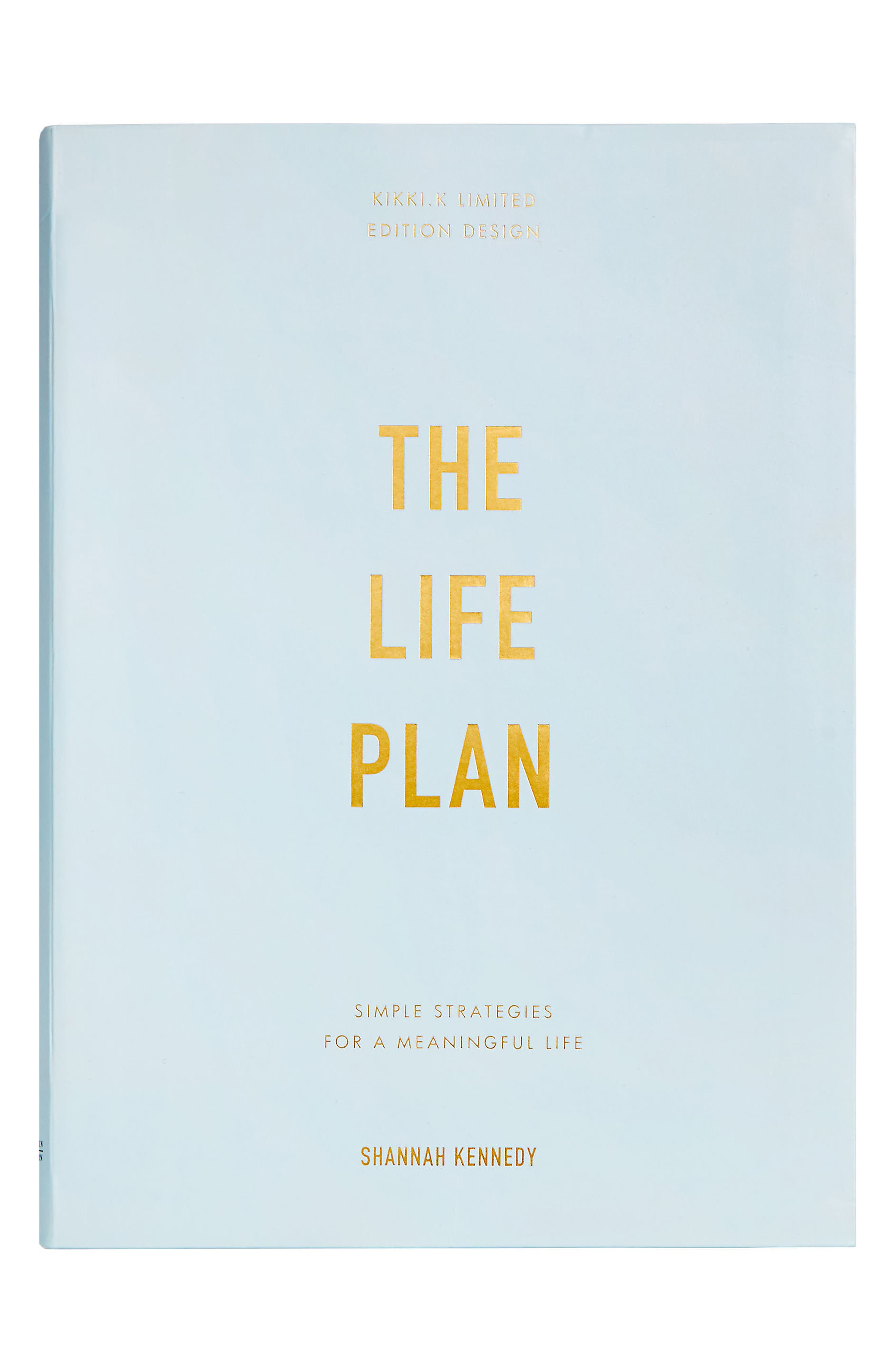 The Life Plan Book,                         Main,                         color, Blue