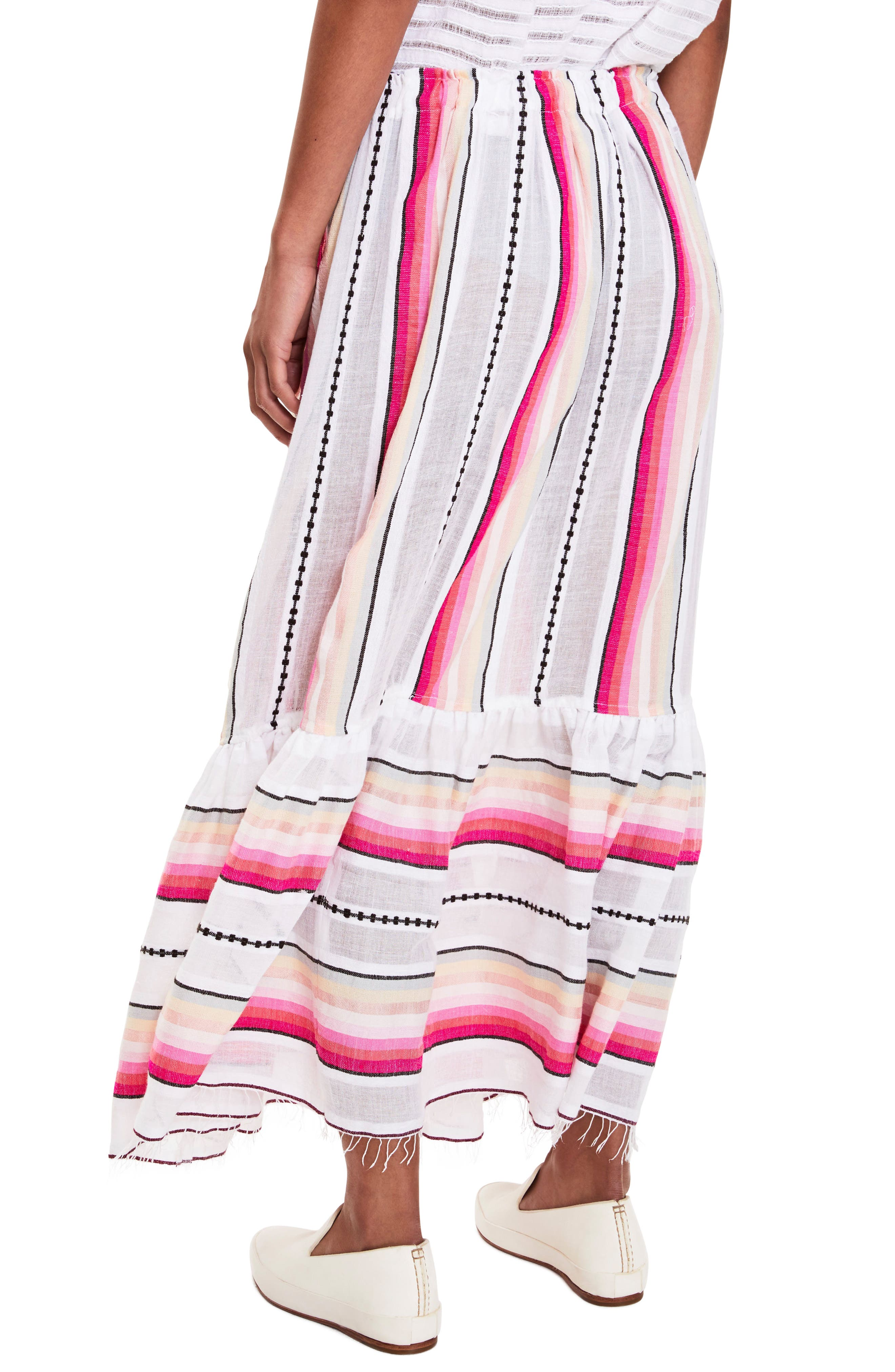 Adia Convertible Cover-Up Skirt,                             Alternate thumbnail 2, color,                             Petal
