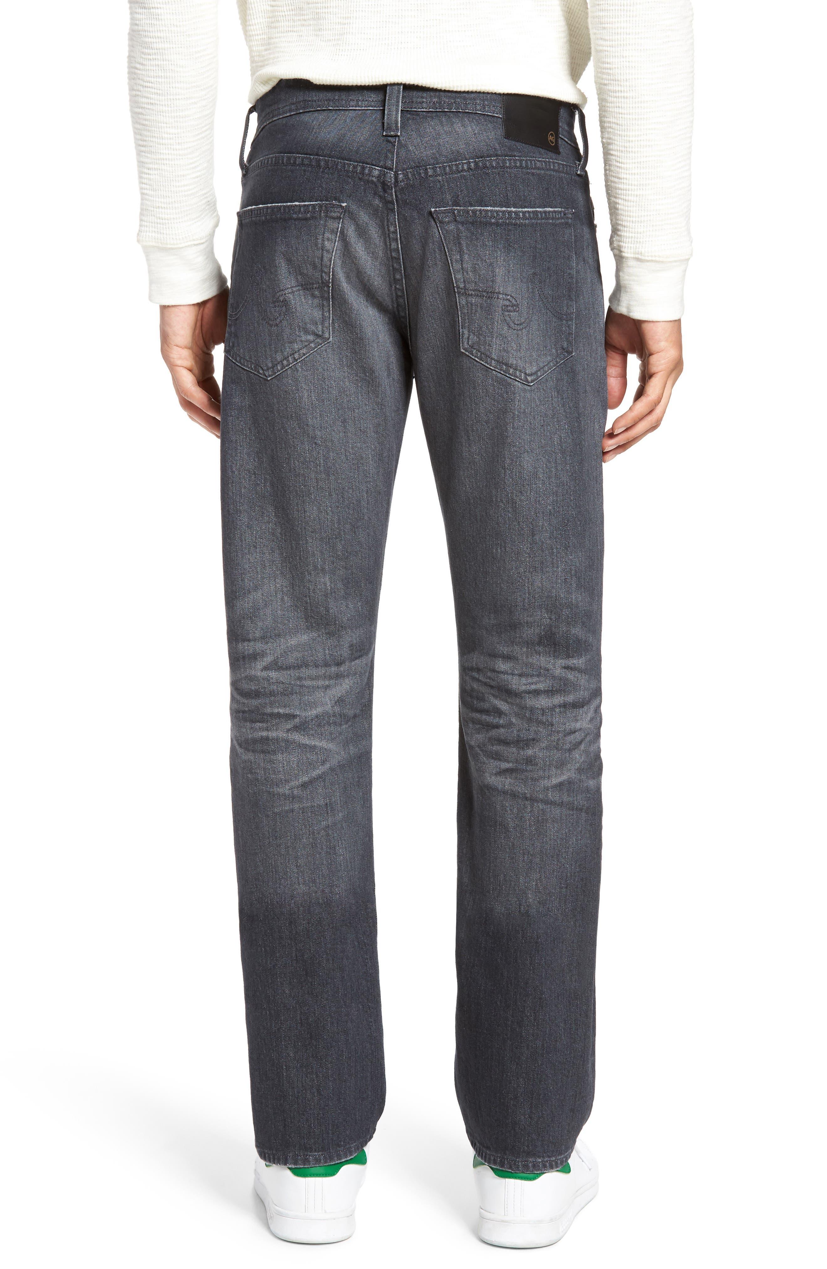 Alternate Image 2  - AG Everett Slim Straight Leg Jeans (5 Year Idle)