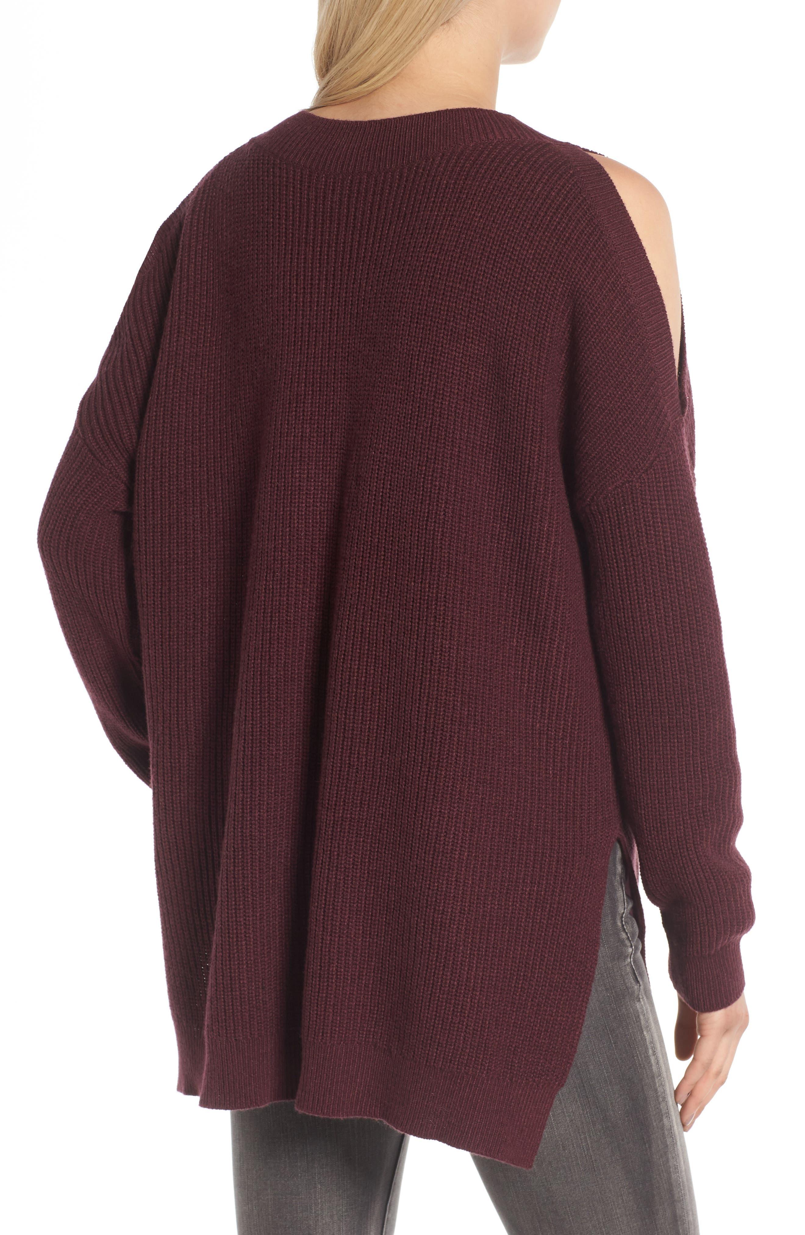 Alternate Image 2  - BP. Cold Shoulder Tunic Sweater