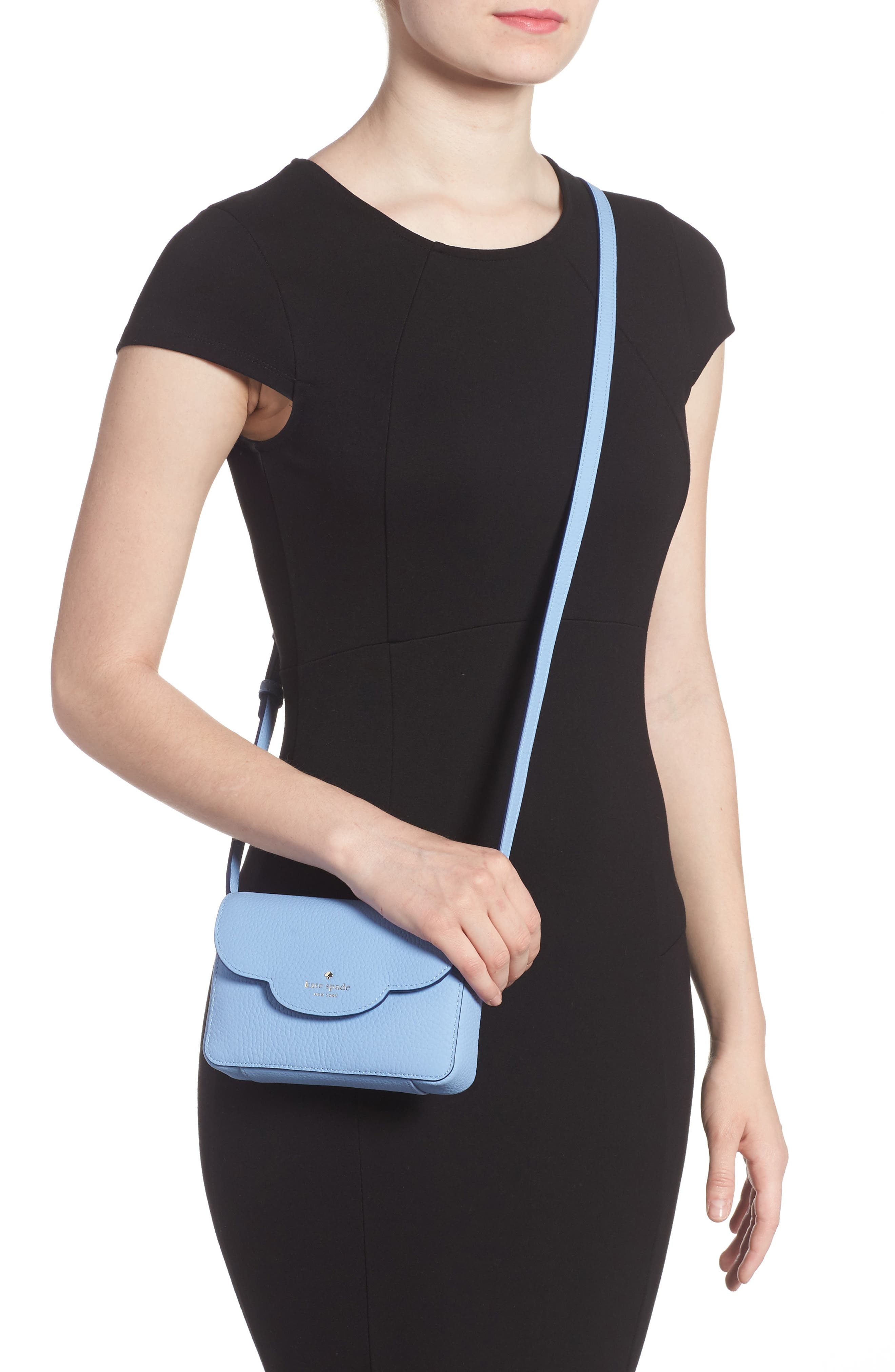 Alternate Image 2  - kate spade new york leewood place joley leather crossbody bag