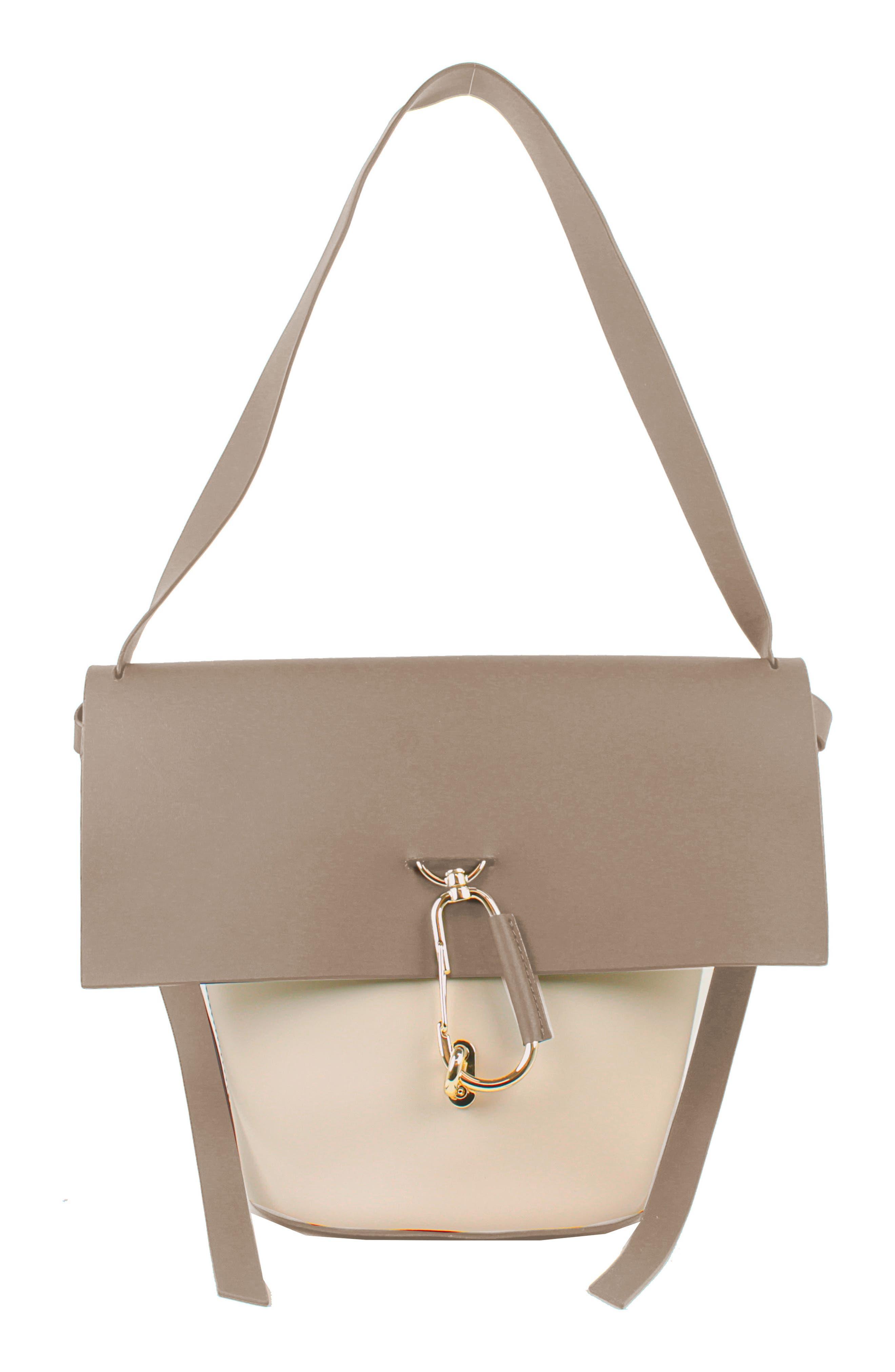 ZAC Zac Posen Belay Leather Shoulder Bag