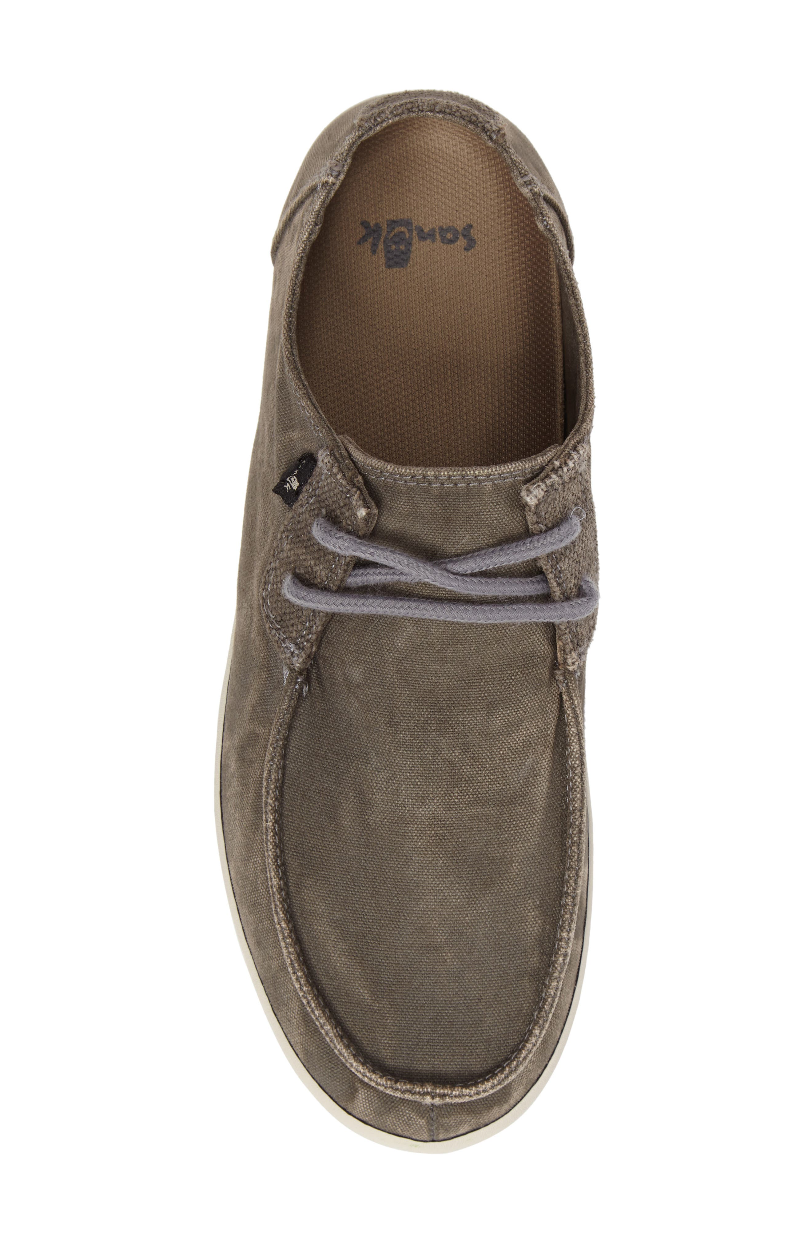 Numami Sneaker,                             Alternate thumbnail 5, color,                             Washed Grey Canvas