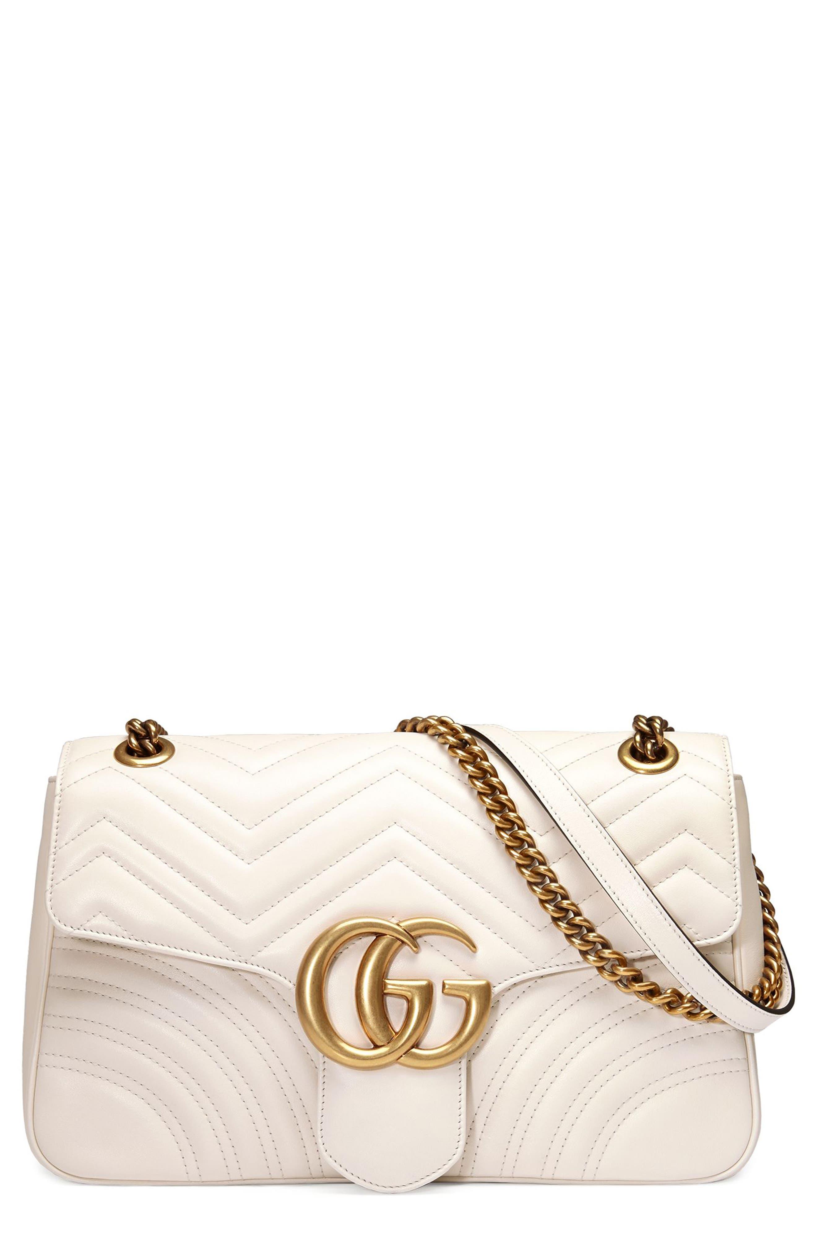 Main Image - Gucci Medium GG Marmont 2.0 Matelassé Leather Shoulder Bag