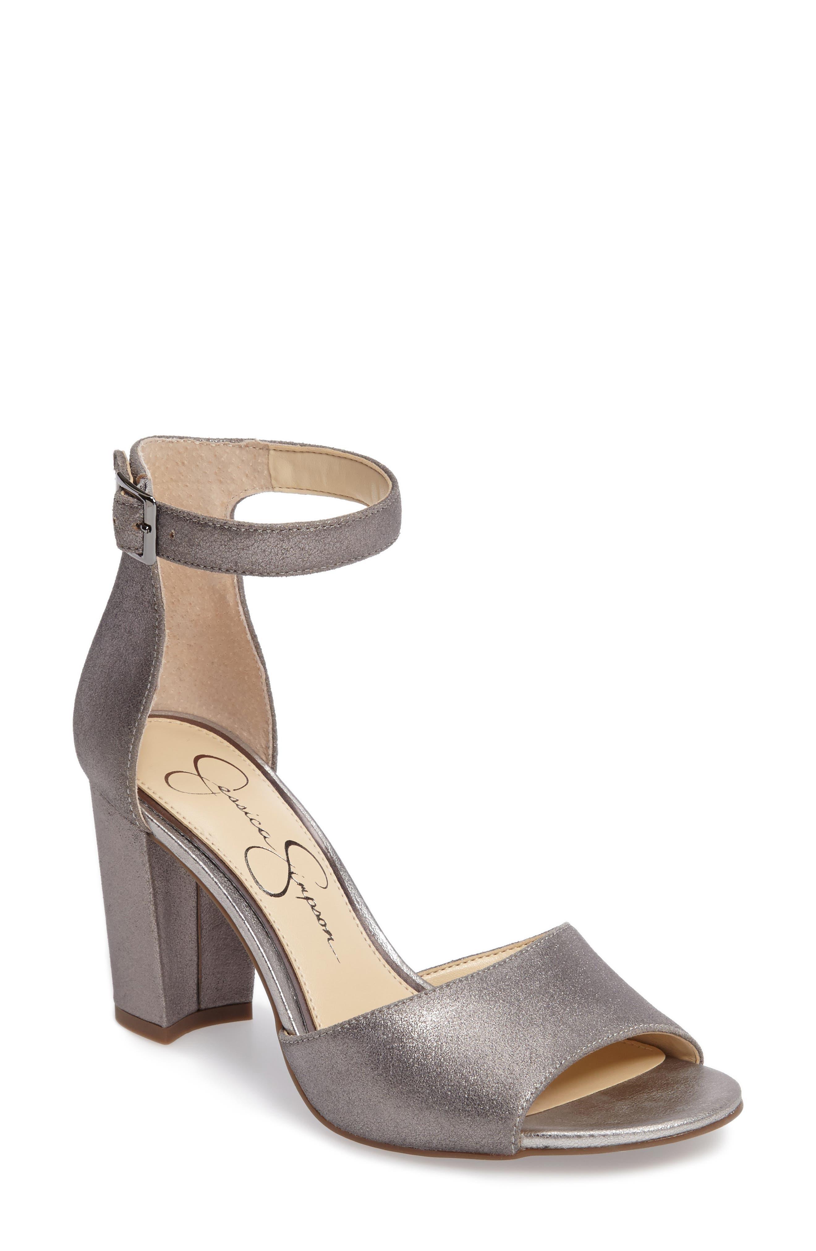 Sherron Sandal,                         Main,                         color, Alloy