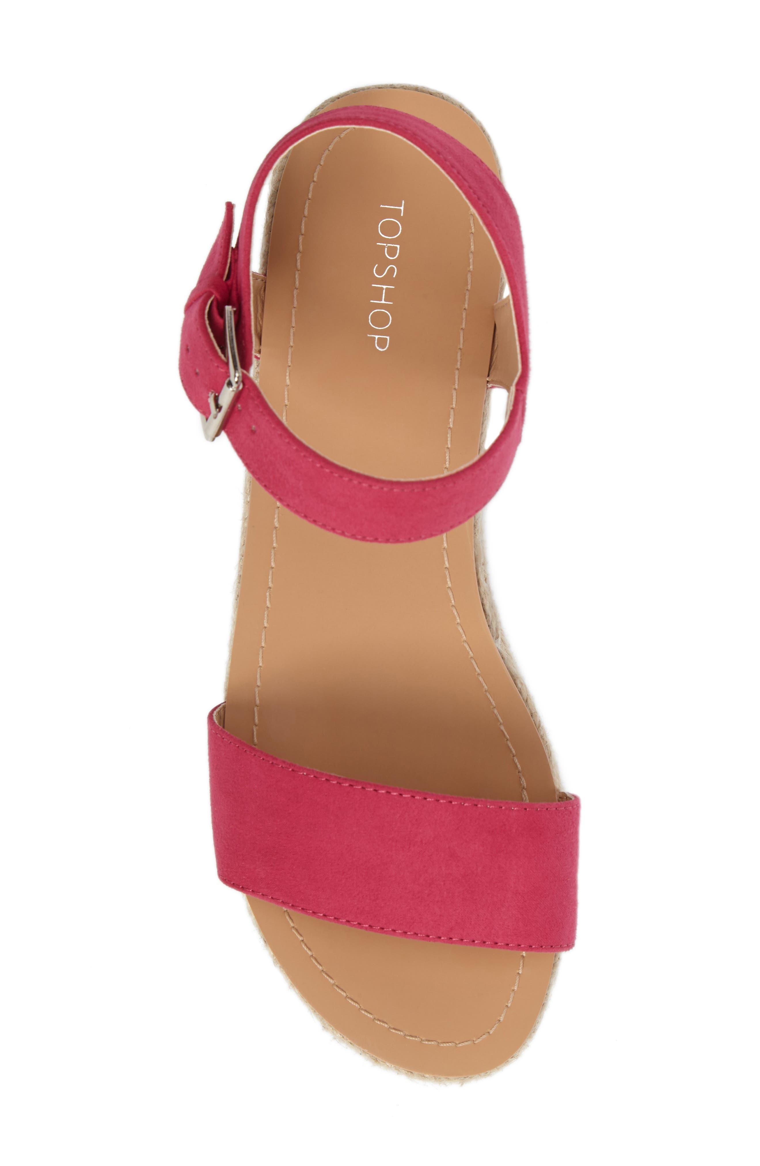 Alternate Image 5  - Topshop Dream Platform Espadrille Sandal (Women)