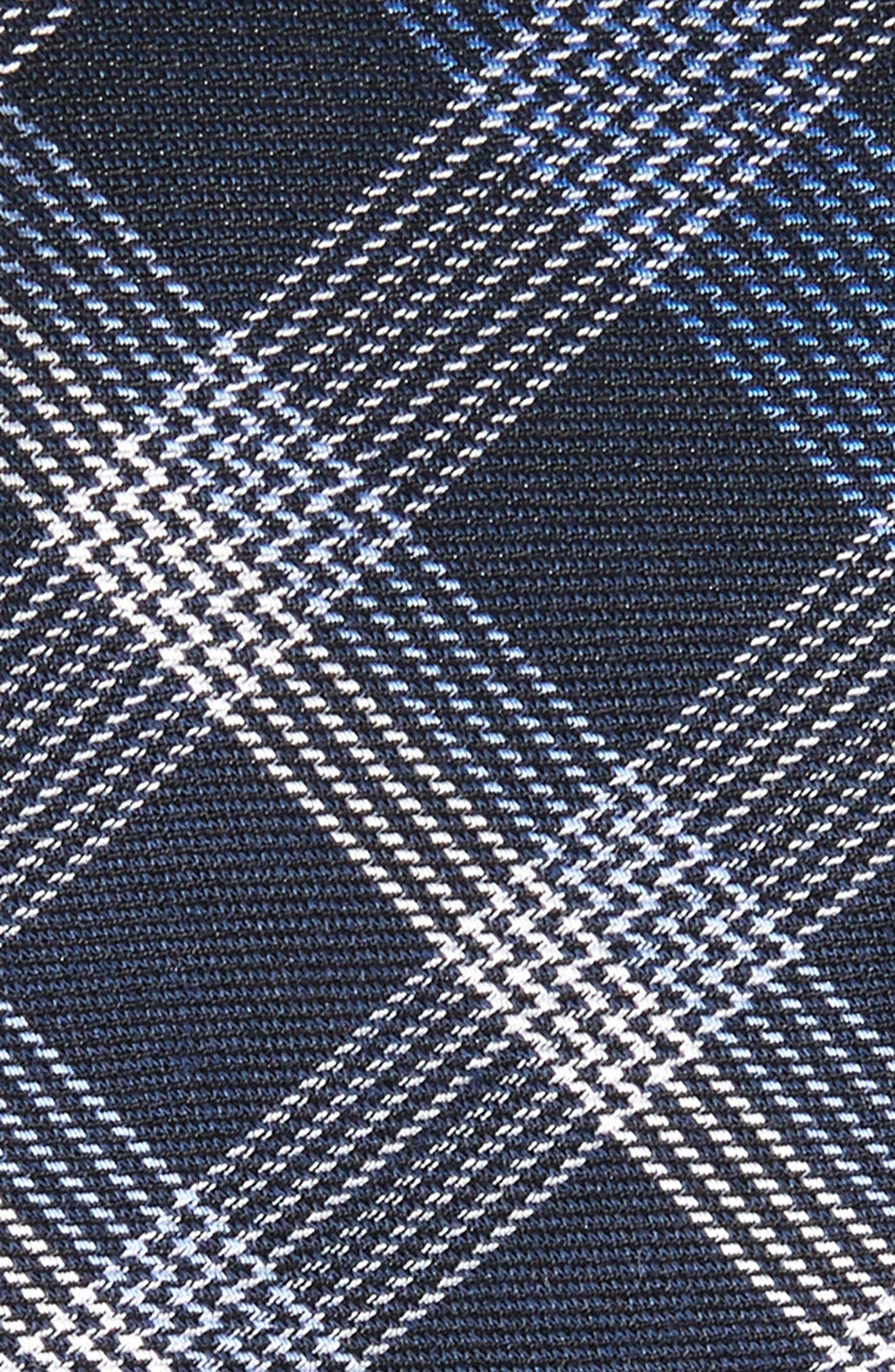 Alternate Image 2  - Calibrate Indigo Plaid Silk Tie
